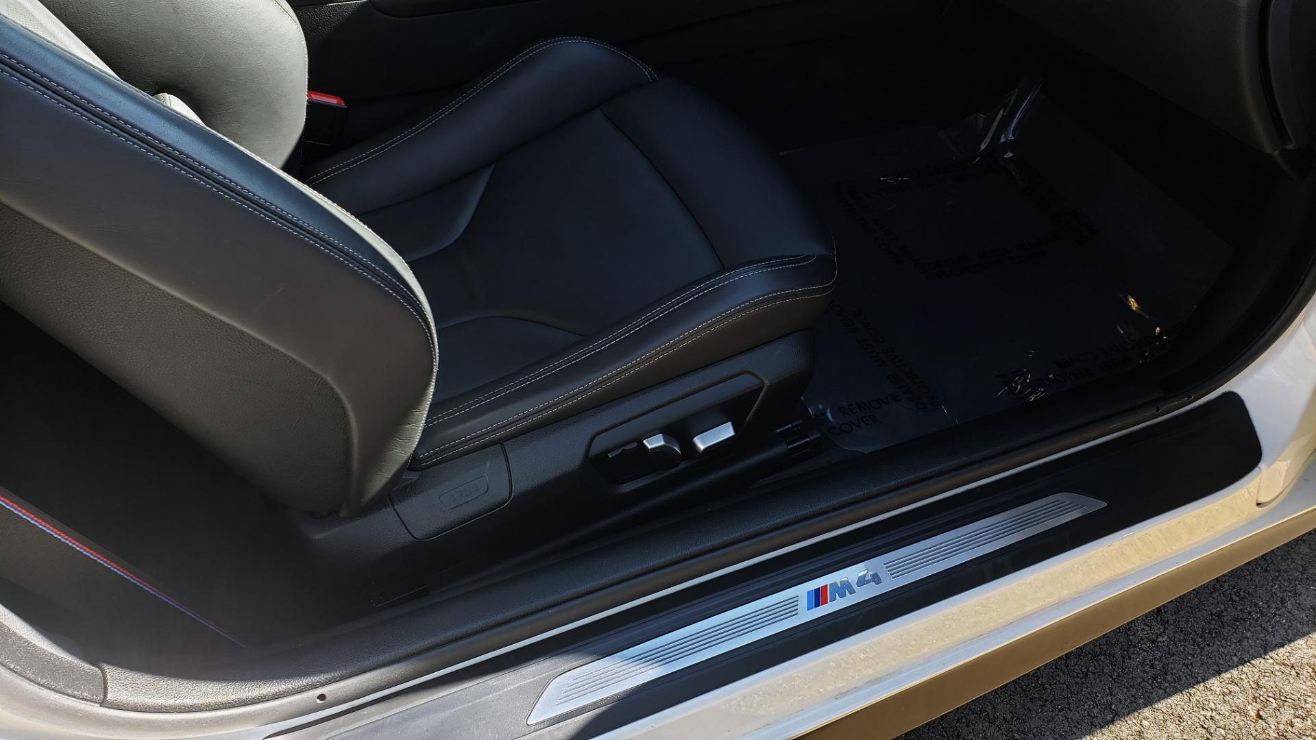 Used 2018 BMW M4 COMP PKG / EXEC / M-DRIVER / PARK CNTRL / ACTIVE BLIND SPOT for sale $45,449 at Formula Imports in Charlotte NC 28227 67