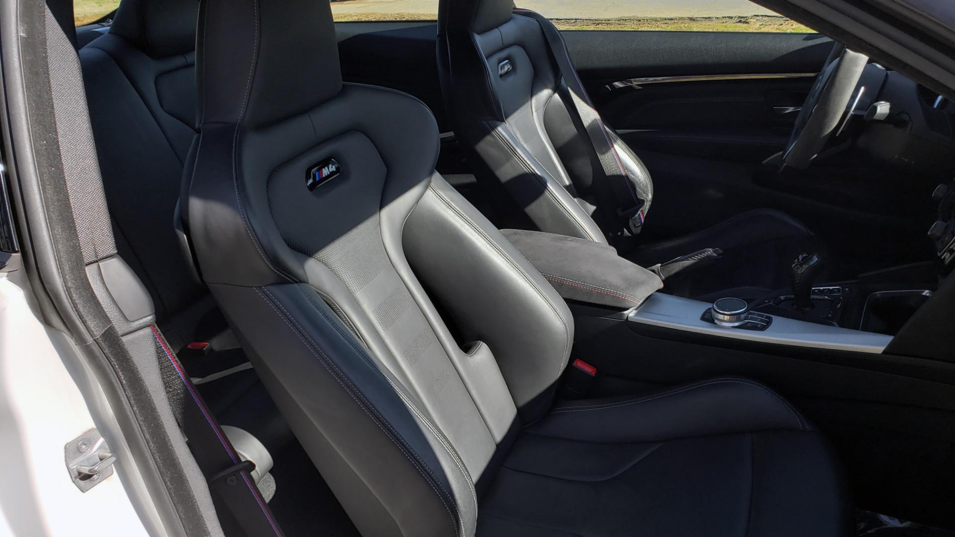 Used 2018 BMW M4 COMP PKG / EXEC / M-DRIVER / PARK CNTRL / ACTIVE BLIND SPOT for sale $45,449 at Formula Imports in Charlotte NC 28227 68