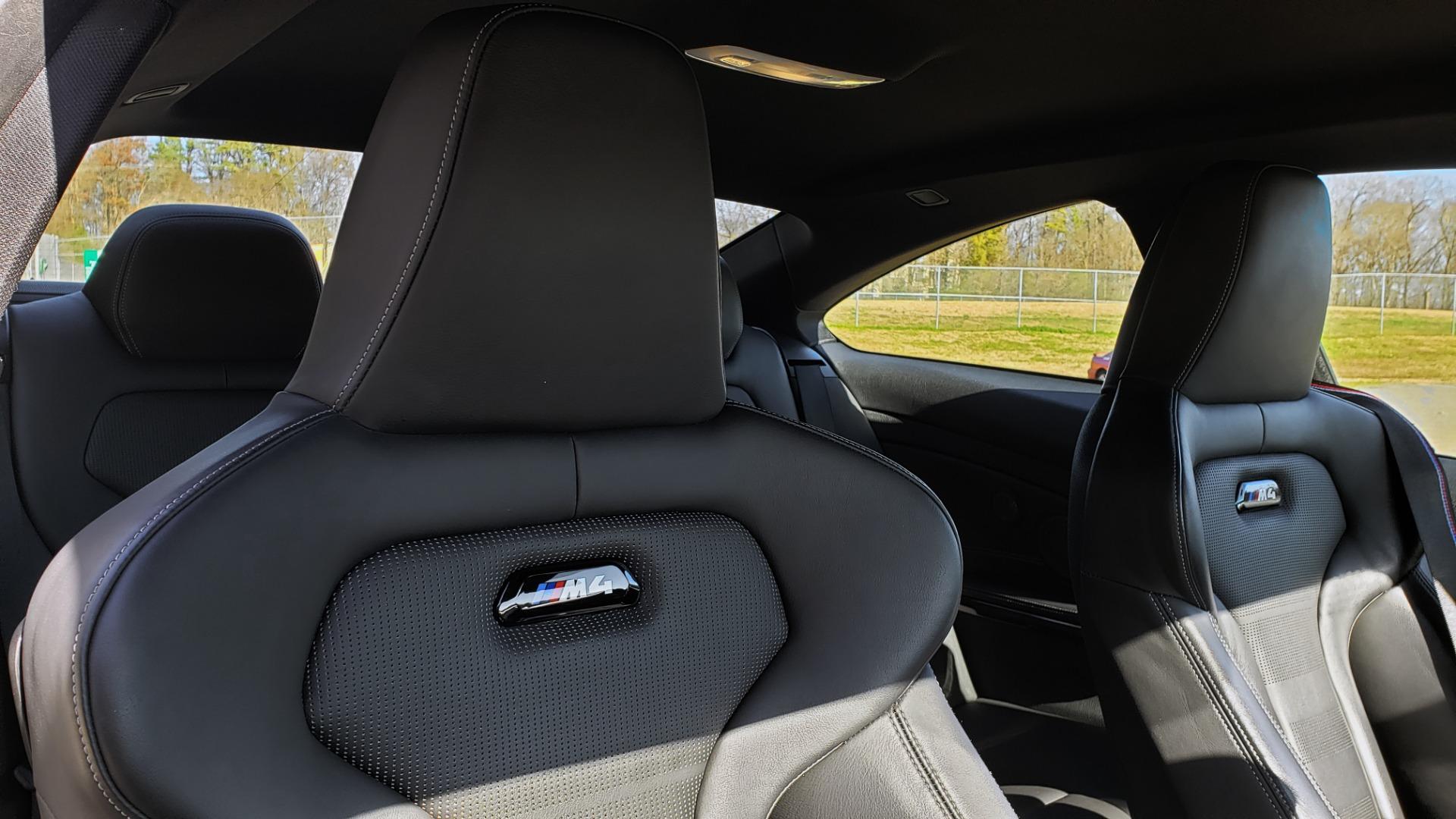 Used 2018 BMW M4 COMP PKG / EXEC / M-DRIVER / PARK CNTRL / ACTIVE BLIND SPOT for sale $45,449 at Formula Imports in Charlotte NC 28227 69