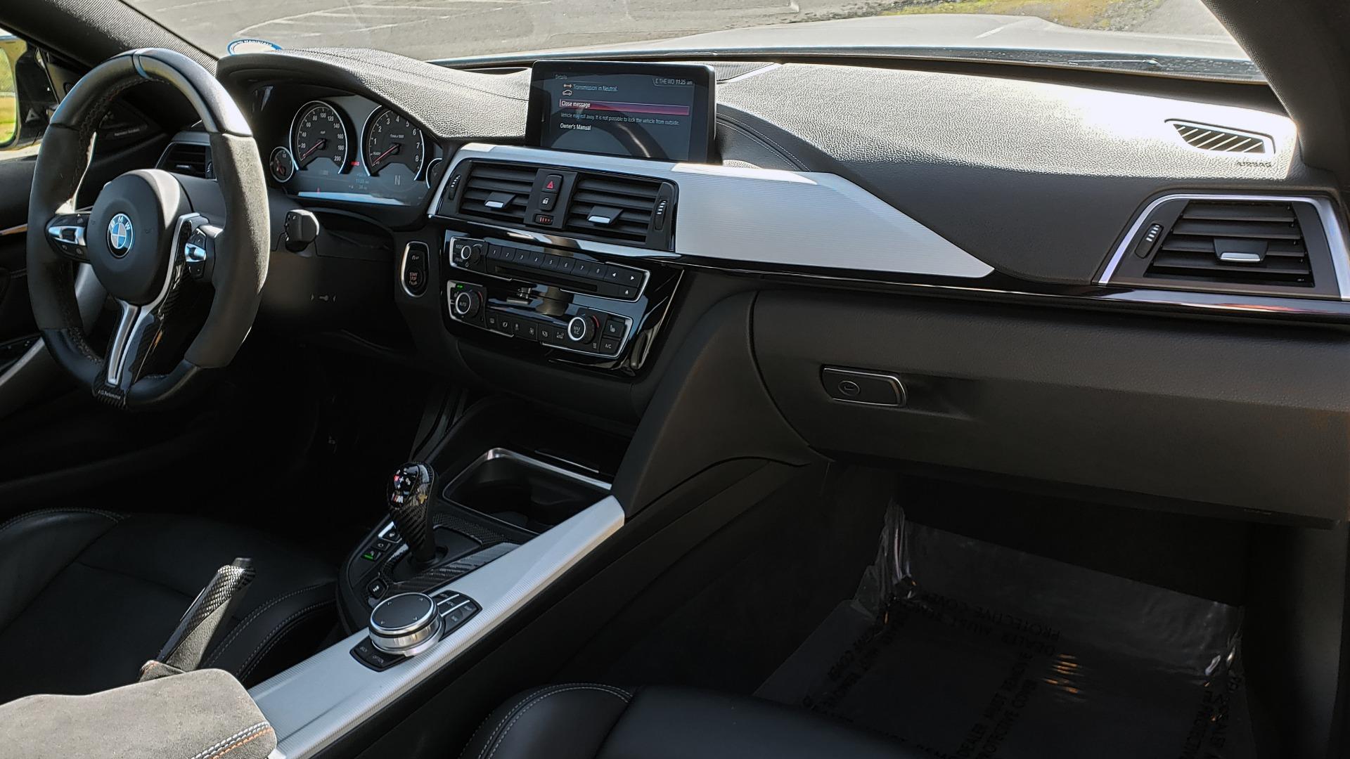 Used 2018 BMW M4 COMP PKG / EXEC / M-DRIVER / PARK CNTRL / ACTIVE BLIND SPOT for sale Sold at Formula Imports in Charlotte NC 28227 70