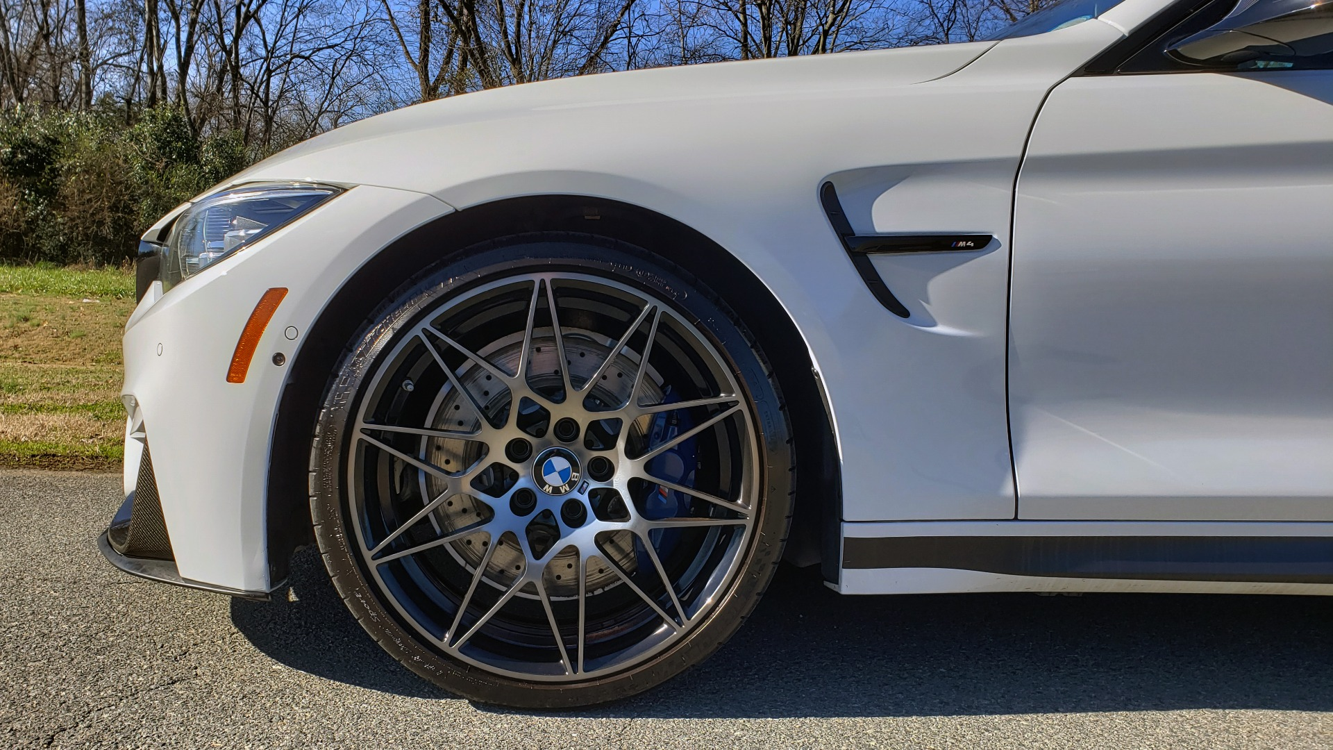 Used 2018 BMW M4 COMP PKG / EXEC / M-DRIVER / PARK CNTRL / ACTIVE BLIND SPOT for sale $45,449 at Formula Imports in Charlotte NC 28227 74