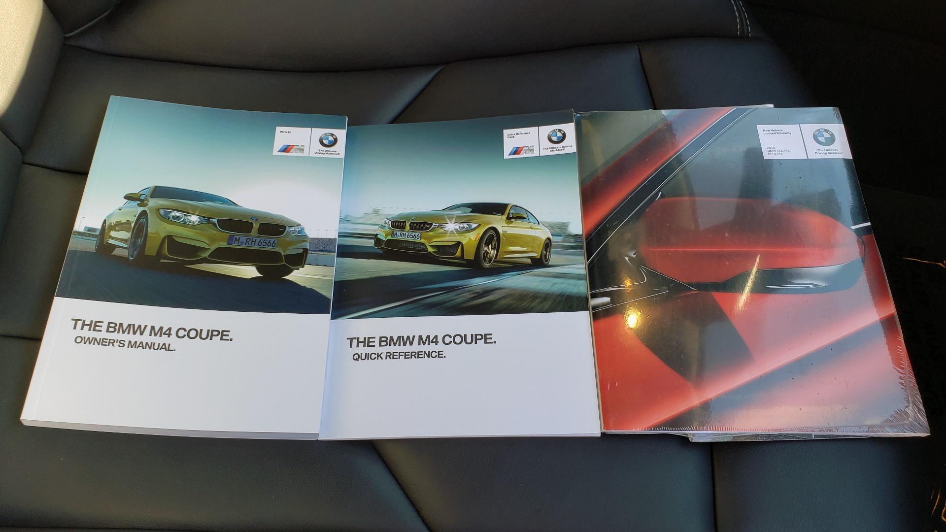 Used 2018 BMW M4 COMP PKG / EXEC / M-DRIVER / PARK CNTRL / ACTIVE BLIND SPOT for sale Sold at Formula Imports in Charlotte NC 28227 82