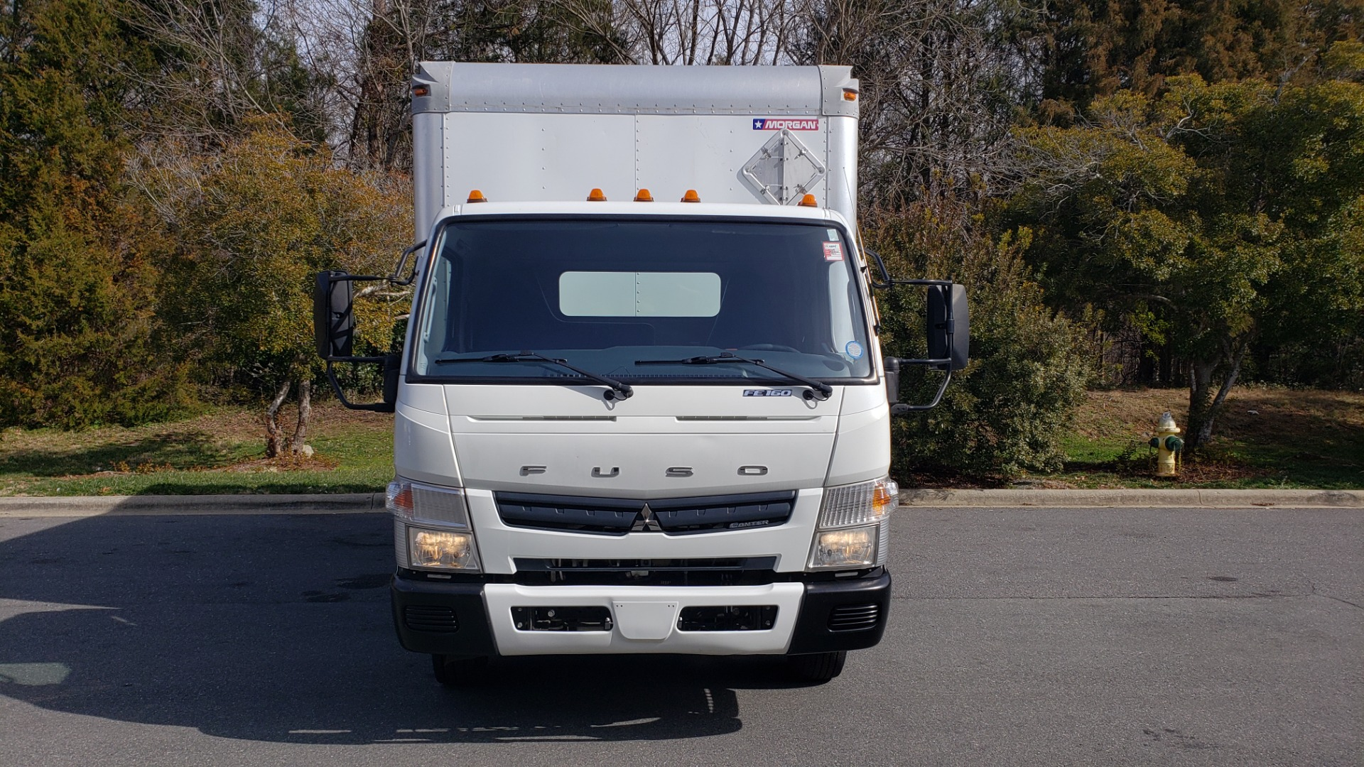 Used 2013 Mitsubishi FUSO FEC72S CARGO VAN / DUAL REAR WHEELS / CLEAN / LOW MILES for sale $25,000 at Formula Imports in Charlotte NC 28227 29