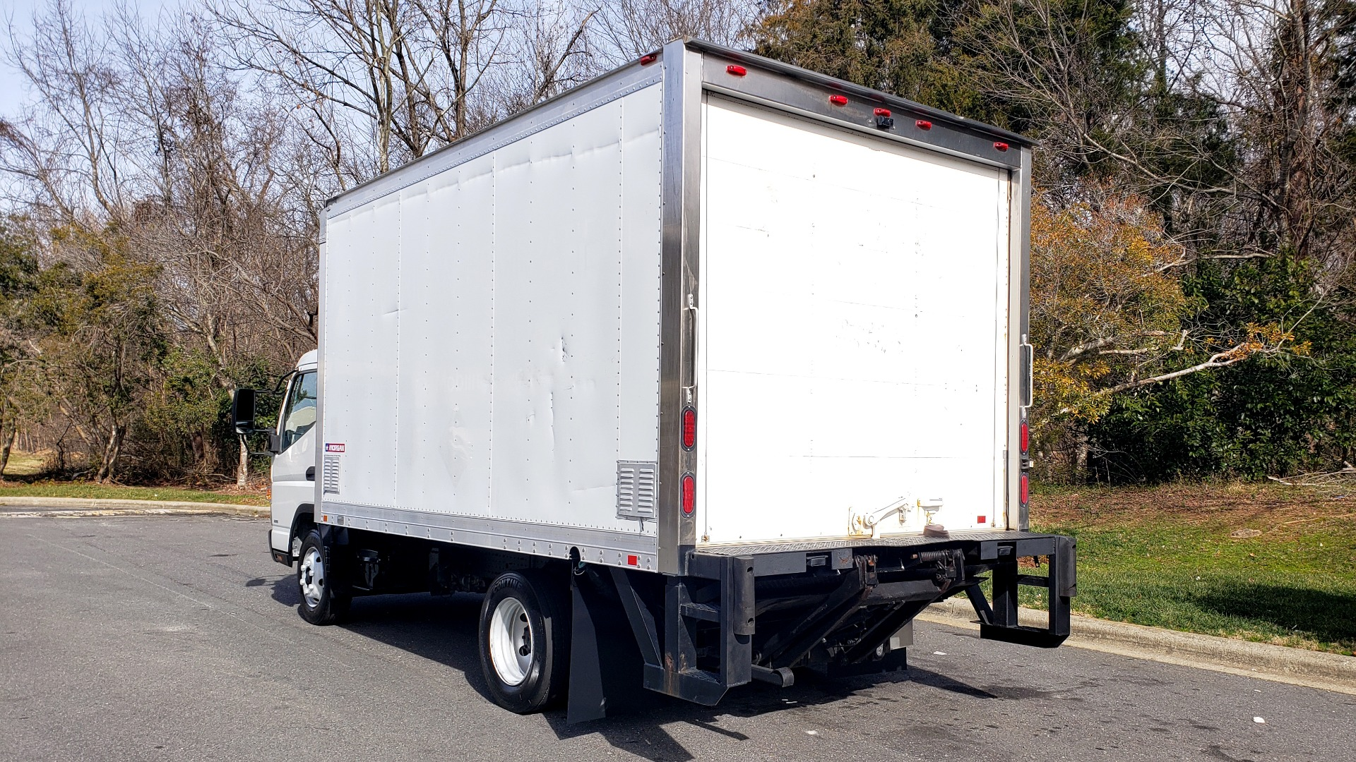 Used 2013 Mitsubishi FUSO FEC72S CARGO VAN / DUAL REAR WHEELS / CLEAN / LOW MILES for sale $25,000 at Formula Imports in Charlotte NC 28227 3