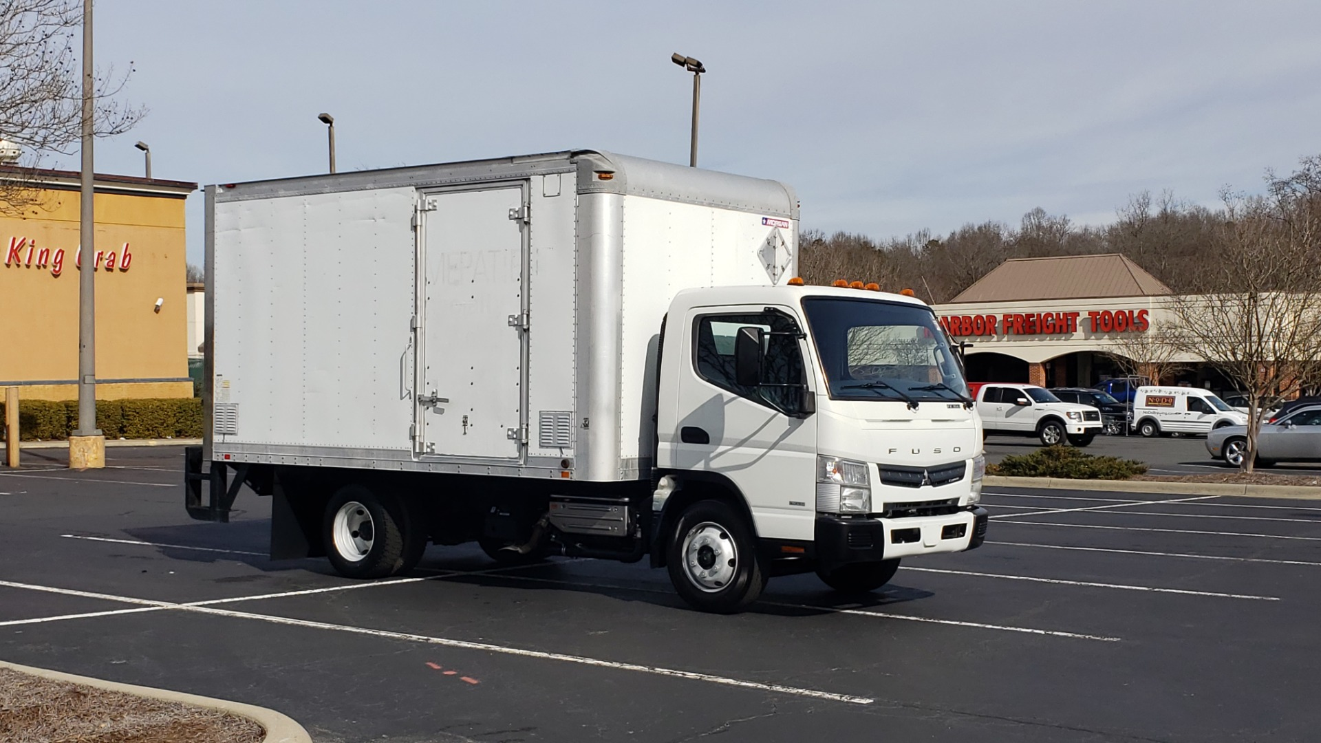 Used 2013 Mitsubishi FUSO FEC72S CARGO VAN / DUAL REAR WHEELS / CLEAN / LOW MILES for sale $25,000 at Formula Imports in Charlotte NC 28227 61