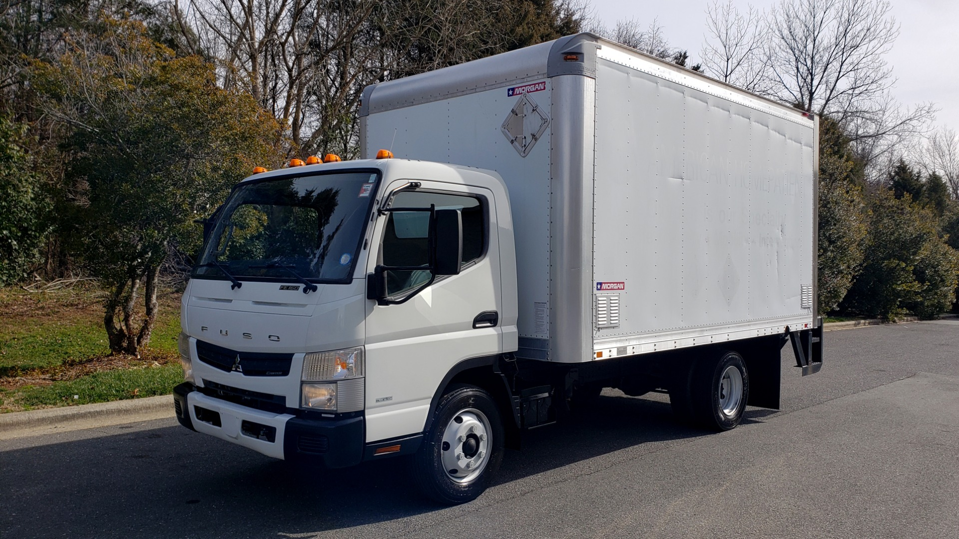 Used 2013 Mitsubishi FUSO FEC72S CARGO VAN / DUAL REAR WHEELS / CLEAN / LOW MILES for sale $25,000 at Formula Imports in Charlotte NC 28227 1