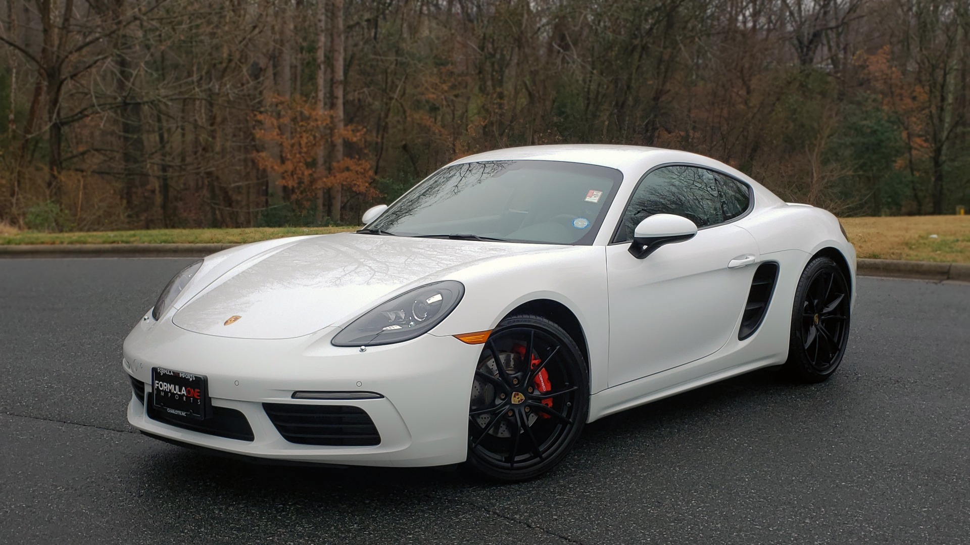 Used 2017 Porsche 718 CAYMAN S / NAV / BOSE / PDK / RWD / VENT STS / REARVIEW for sale Sold at Formula Imports in Charlotte NC 28227 1