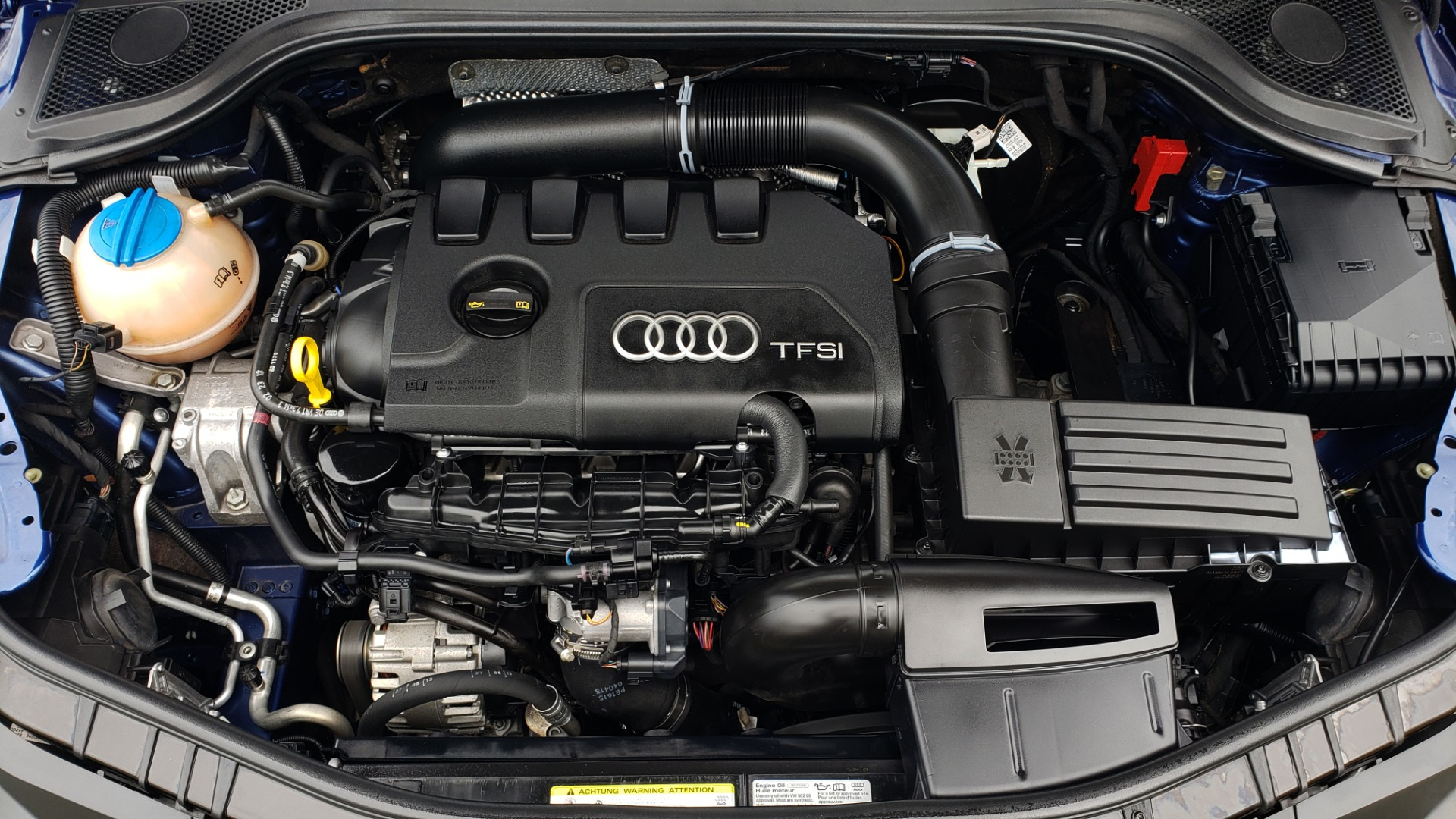 Used 2014 Audi TT 2.0T S-TRONIC / COUPE / AWD / LEATHER / HEATED SEATS for sale Sold at Formula Imports in Charlotte NC 28227 15