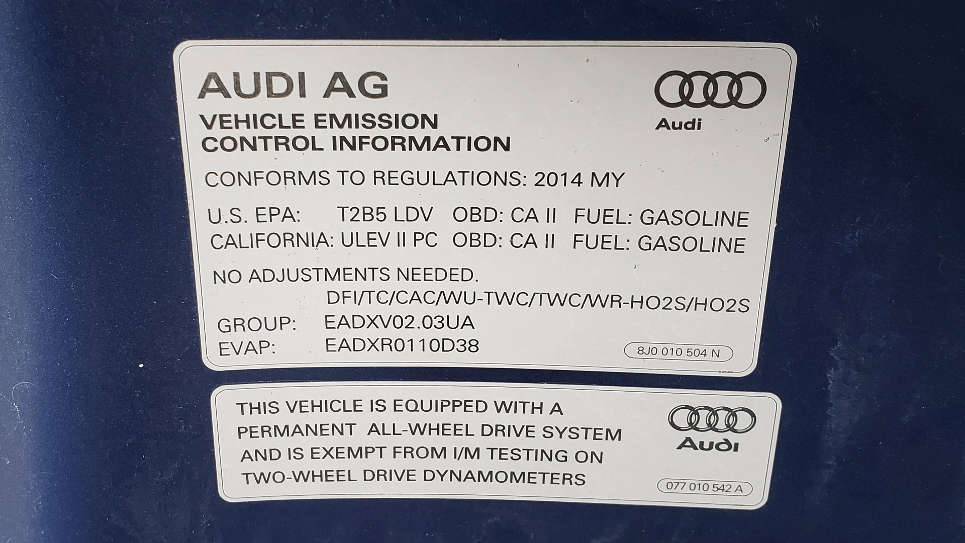 Used 2014 Audi TT 2.0T S-TRONIC / COUPE / AWD / LEATHER / HEATED SEATS for sale Sold at Formula Imports in Charlotte NC 28227 16