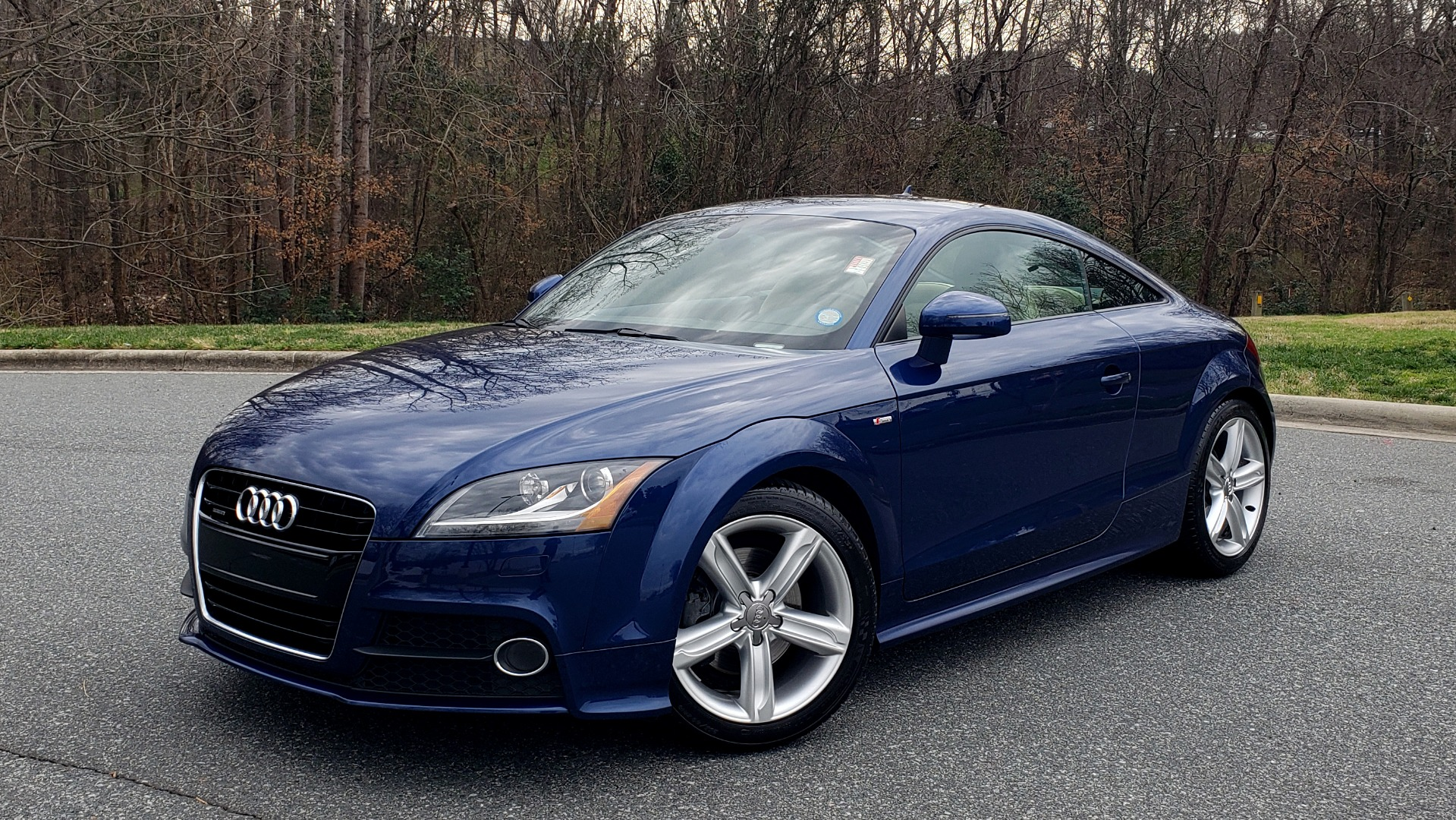 Used 2014 Audi TT 2.0T S-TRONIC / COUPE / AWD / LEATHER / HEATED SEATS for sale Sold at Formula Imports in Charlotte NC 28227 1
