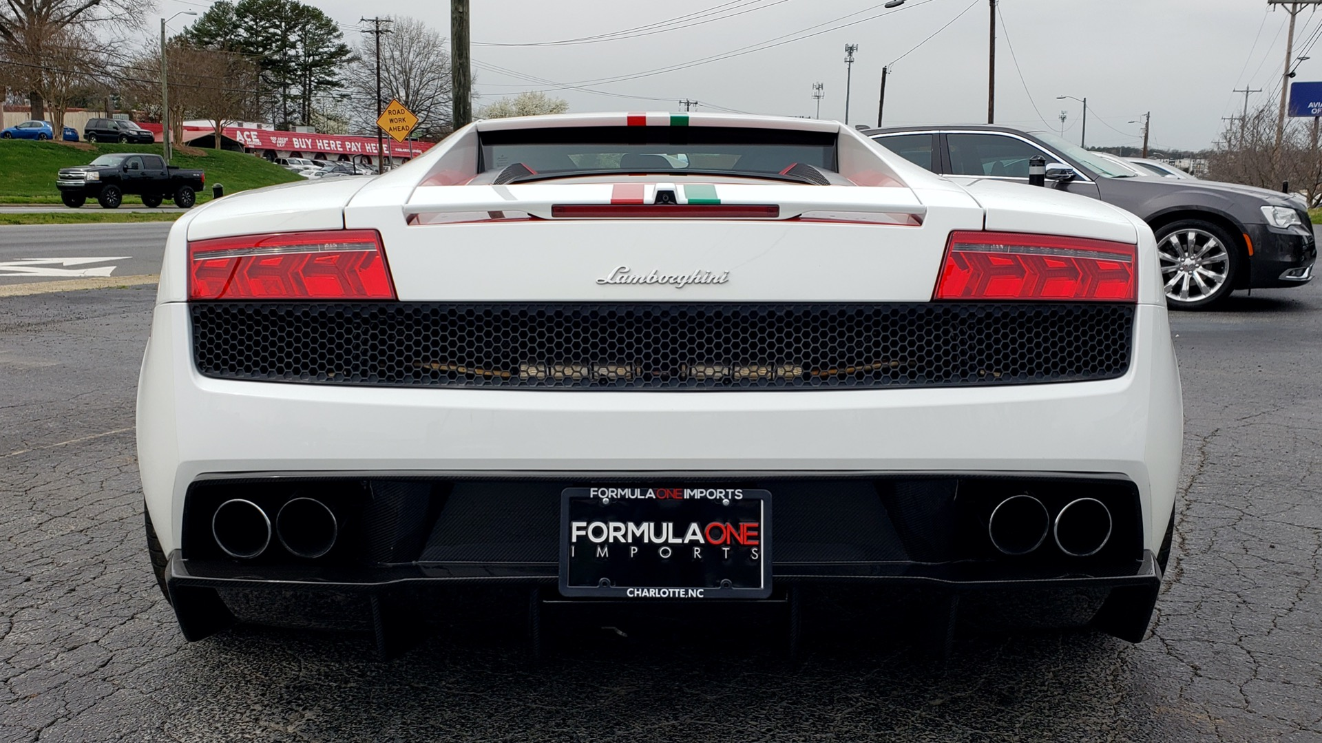 Used 2013 Lamborghini Gallardo LP560-4 560HP / AWD / NAV / CAMERA for sale Sold at Formula Imports in Charlotte NC 28227 7