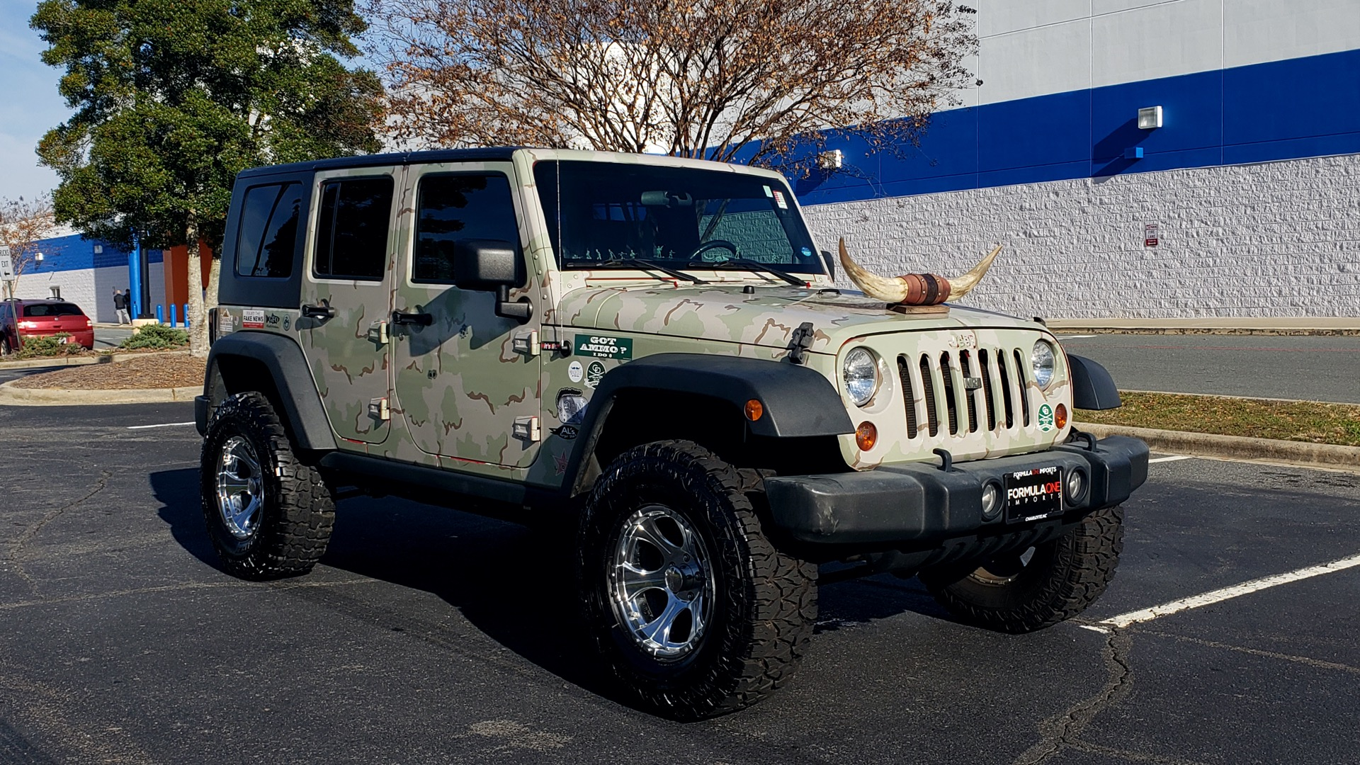 Used 2009 Jeep WRANGLER UNLIMITED 4X4 / FREEDOM TOP / CUSTOM RUBICON for sale Sold at Formula Imports in Charlotte NC 28227 18