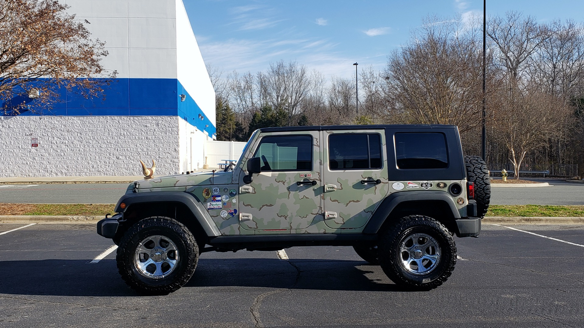 Used 2009 Jeep WRANGLER UNLIMITED 4X4 / FREEDOM TOP / CUSTOM RUBICON for sale Sold at Formula Imports in Charlotte NC 28227 2
