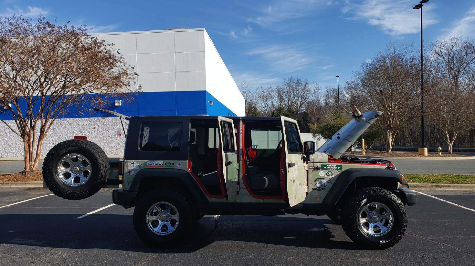 Used 2009 Jeep WRANGLER UNLIMITED 4X4 / FREEDOM TOP / CUSTOM RUBICON for sale Sold at Formula Imports in Charlotte NC 28227 21