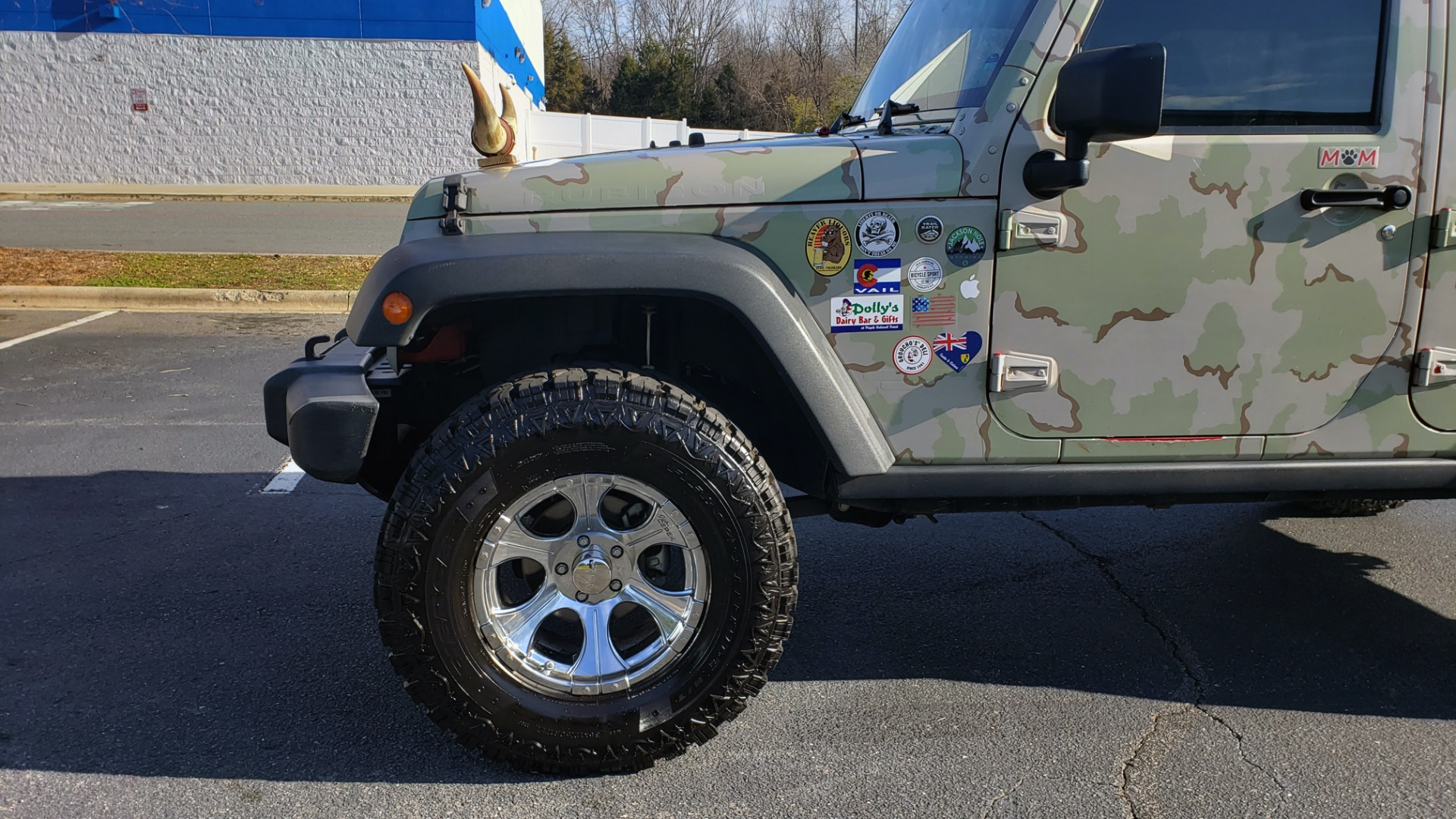 Used 2009 Jeep WRANGLER UNLIMITED 4X4 / FREEDOM TOP / CUSTOM RUBICON for sale Sold at Formula Imports in Charlotte NC 28227 4