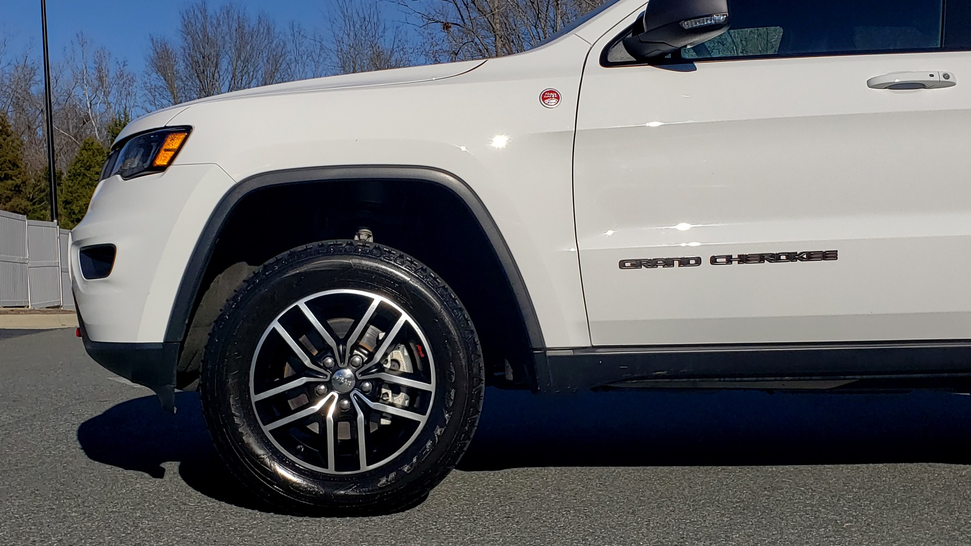 Used 2018 Jeep GRAND CHEROKEE TRAILHAWK 4X4 / NAV / REARVIEW / V6 / AUTO for sale Sold at Formula Imports in Charlotte NC 28227 80