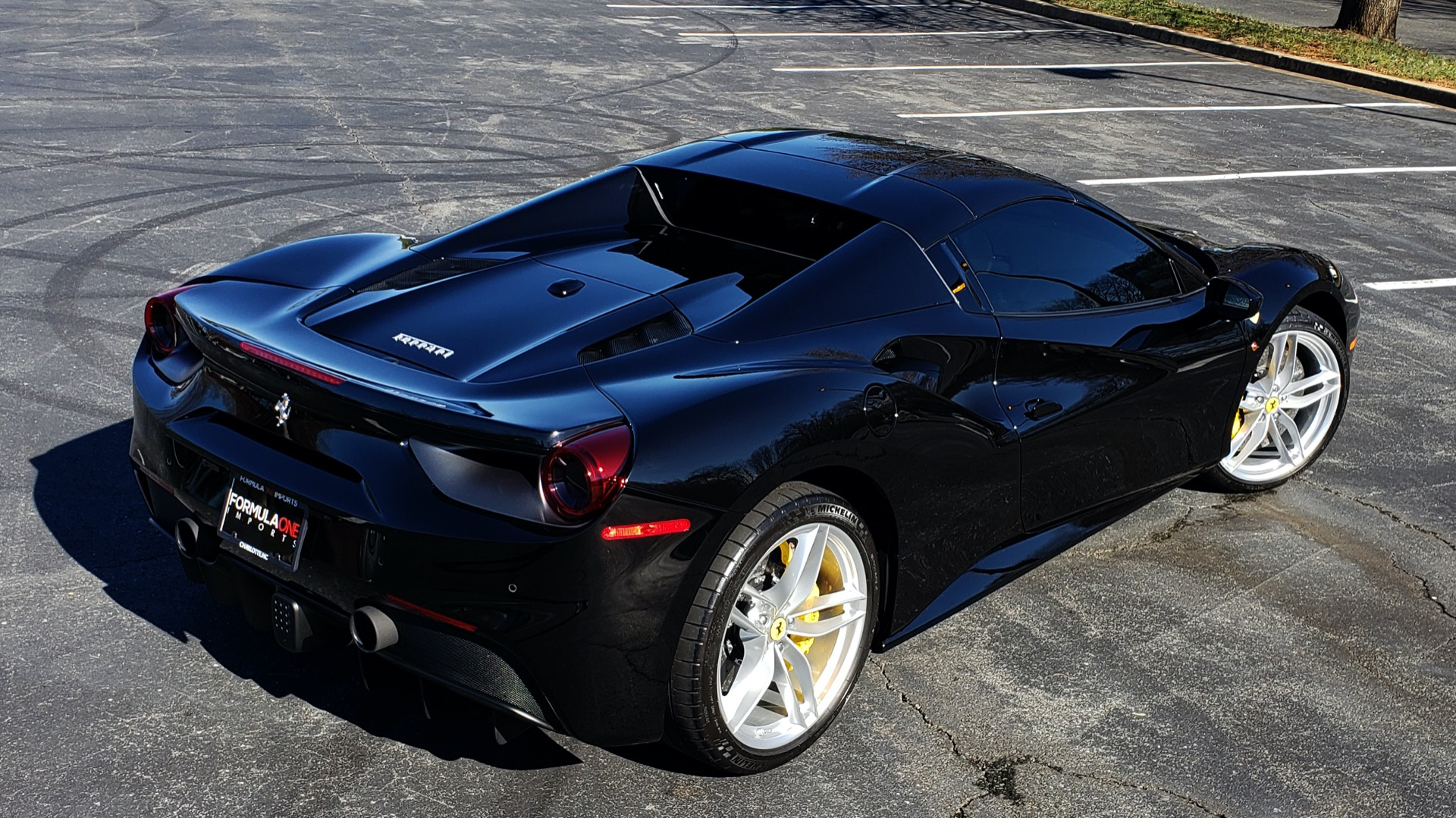 Used 2017 Ferrari 488 SPIDER F1 TRANS / 661HP / POWER-TOP / PREM SOUND / SPORT EXH for sale Sold at Formula Imports in Charlotte NC 28227 16