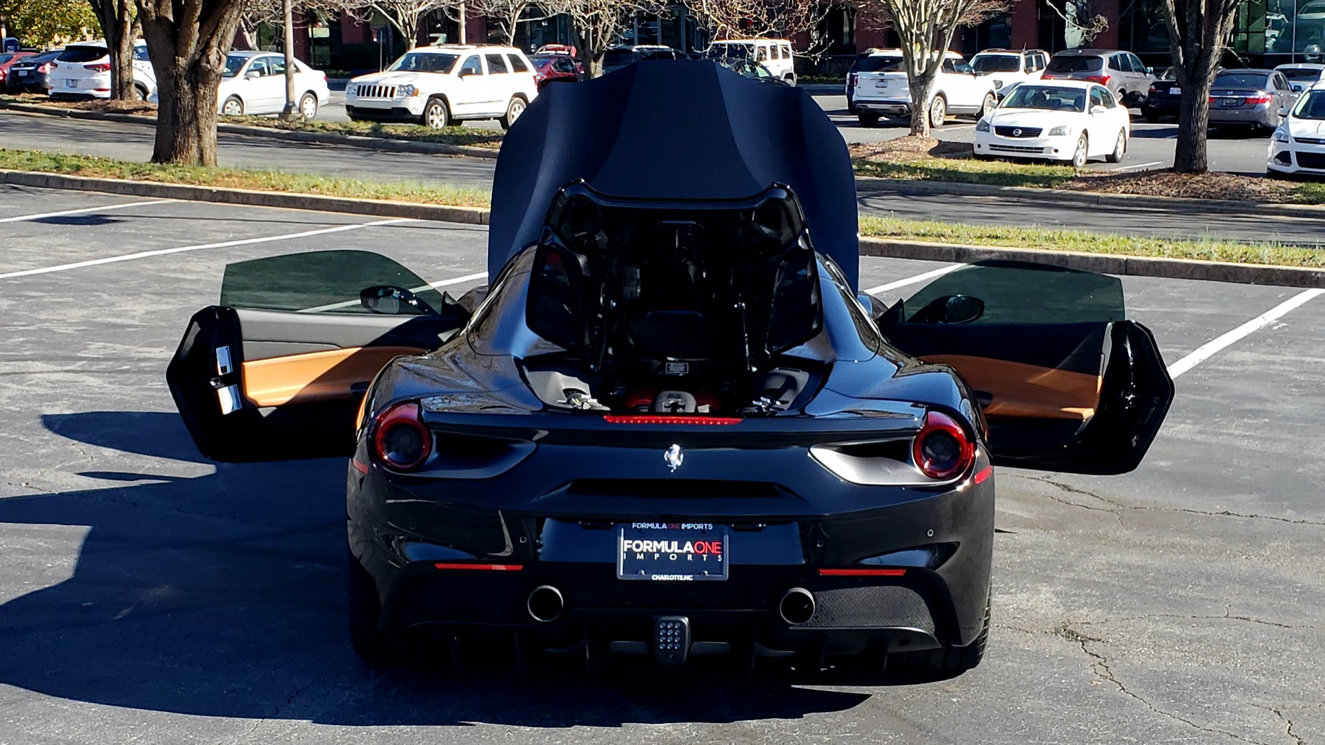 Used 2017 Ferrari 488 SPIDER F1 TRANS / 661HP / POWER-TOP / PREM SOUND / SPORT EXH for sale Sold at Formula Imports in Charlotte NC 28227 25