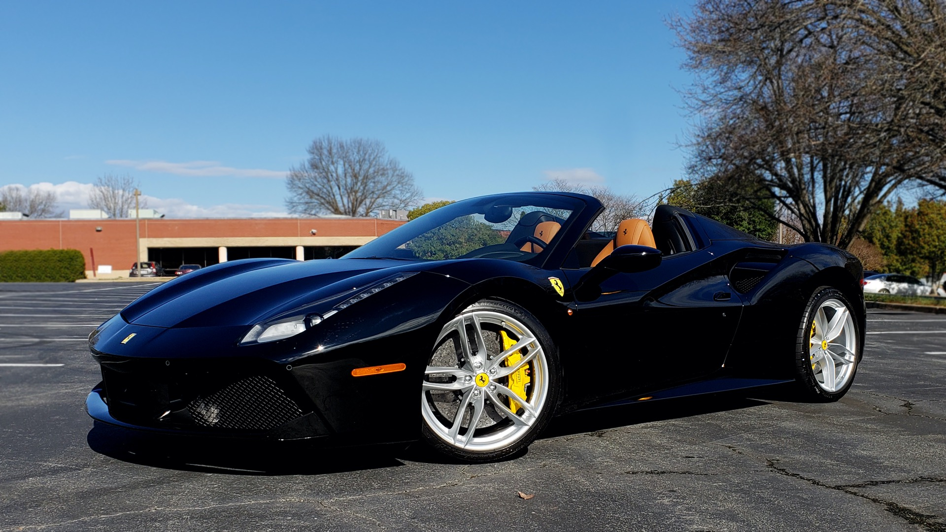 Used 2017 Ferrari 488 SPIDER F1 TRANS / 661HP / POWER-TOP / PREM SOUND / SPORT EXH for sale Sold at Formula Imports in Charlotte NC 28227 49