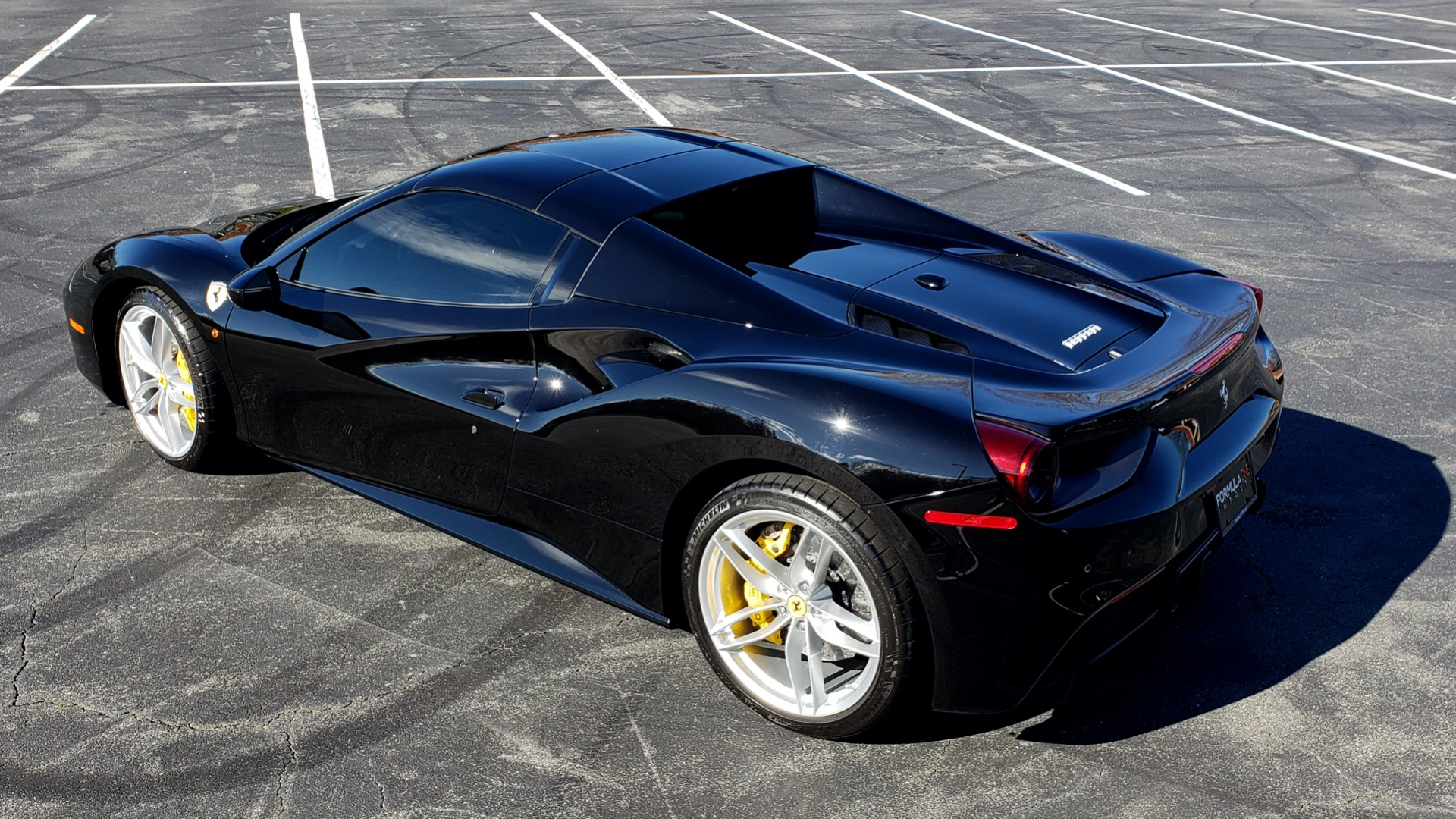 Used 2017 Ferrari 488 SPIDER F1 TRANS / 661HP / POWER-TOP / PREM SOUND / SPORT EXH for sale Sold at Formula Imports in Charlotte NC 28227 8