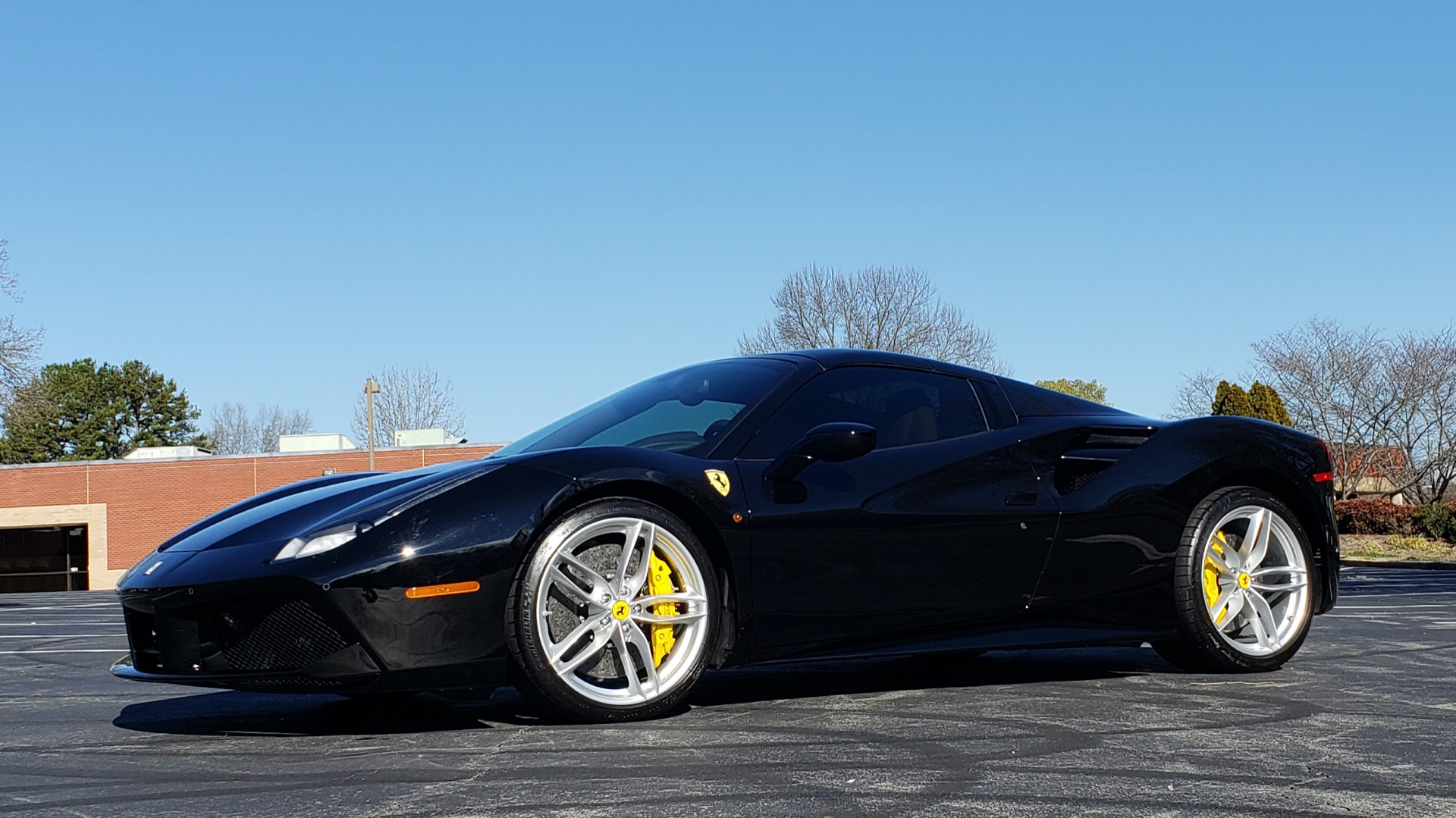 Used 2017 Ferrari 488 SPIDER F1 TRANS / 661HP / POWER-TOP / PREM SOUND / SPORT EXH for sale Sold at Formula Imports in Charlotte NC 28227 1