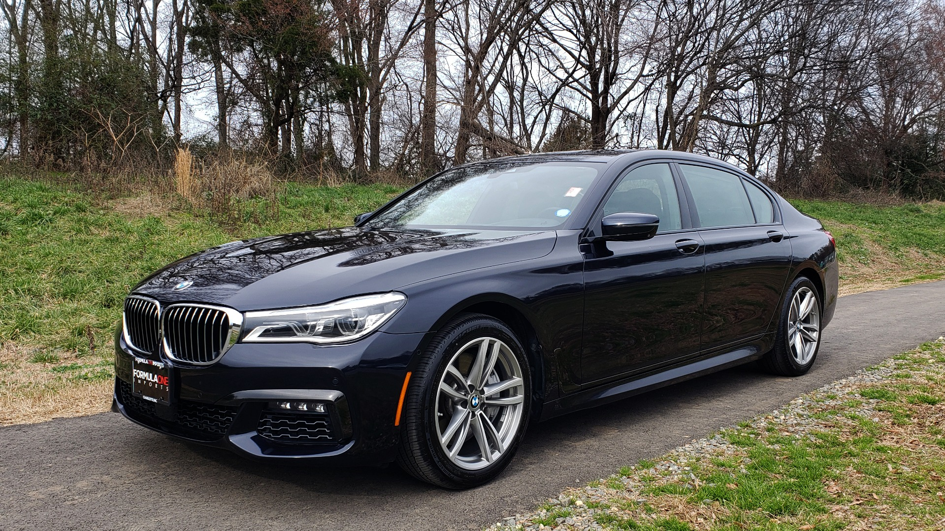 Used 2017 BMW 7 SERIES 750I XDRIVE / M-SPORT / DRVR ASST / EXEC PKG / CLD WTHR for sale Sold at Formula Imports in Charlotte NC 28227 1