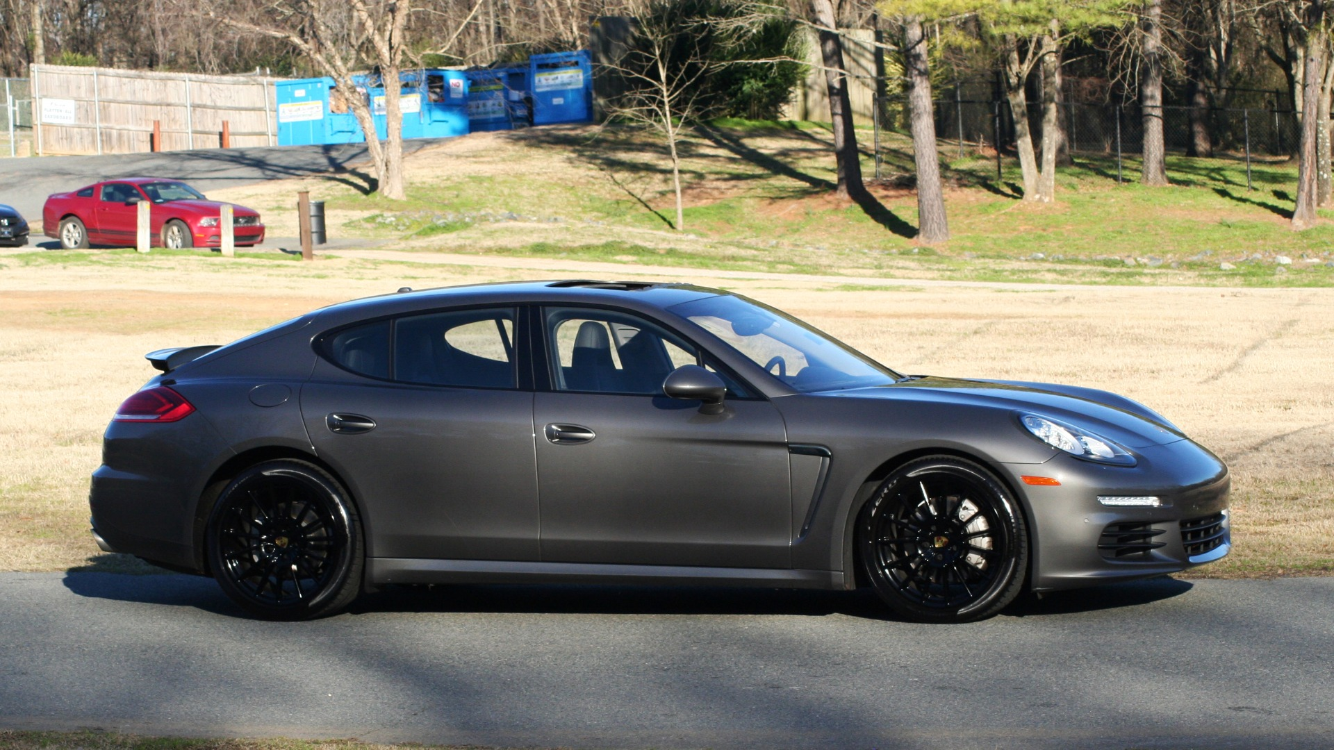 Used 2016 Porsche PANAMERA S / TURBO V6 / PDK / NAV / BOSE / SNRF / LDW / REARVIEW for sale Sold at Formula Imports in Charlotte NC 28227 16