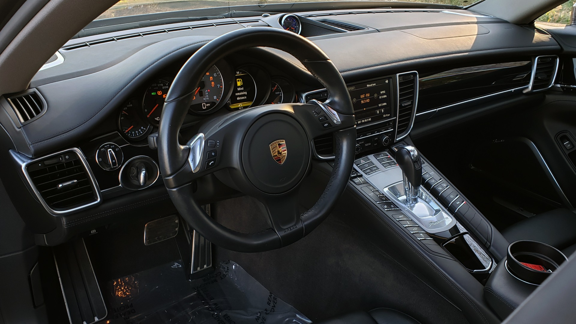 Used 2016 Porsche PANAMERA S / TURBO V6 / PDK / NAV / BOSE / SNRF / LDW / REARVIEW for sale Sold at Formula Imports in Charlotte NC 28227 54