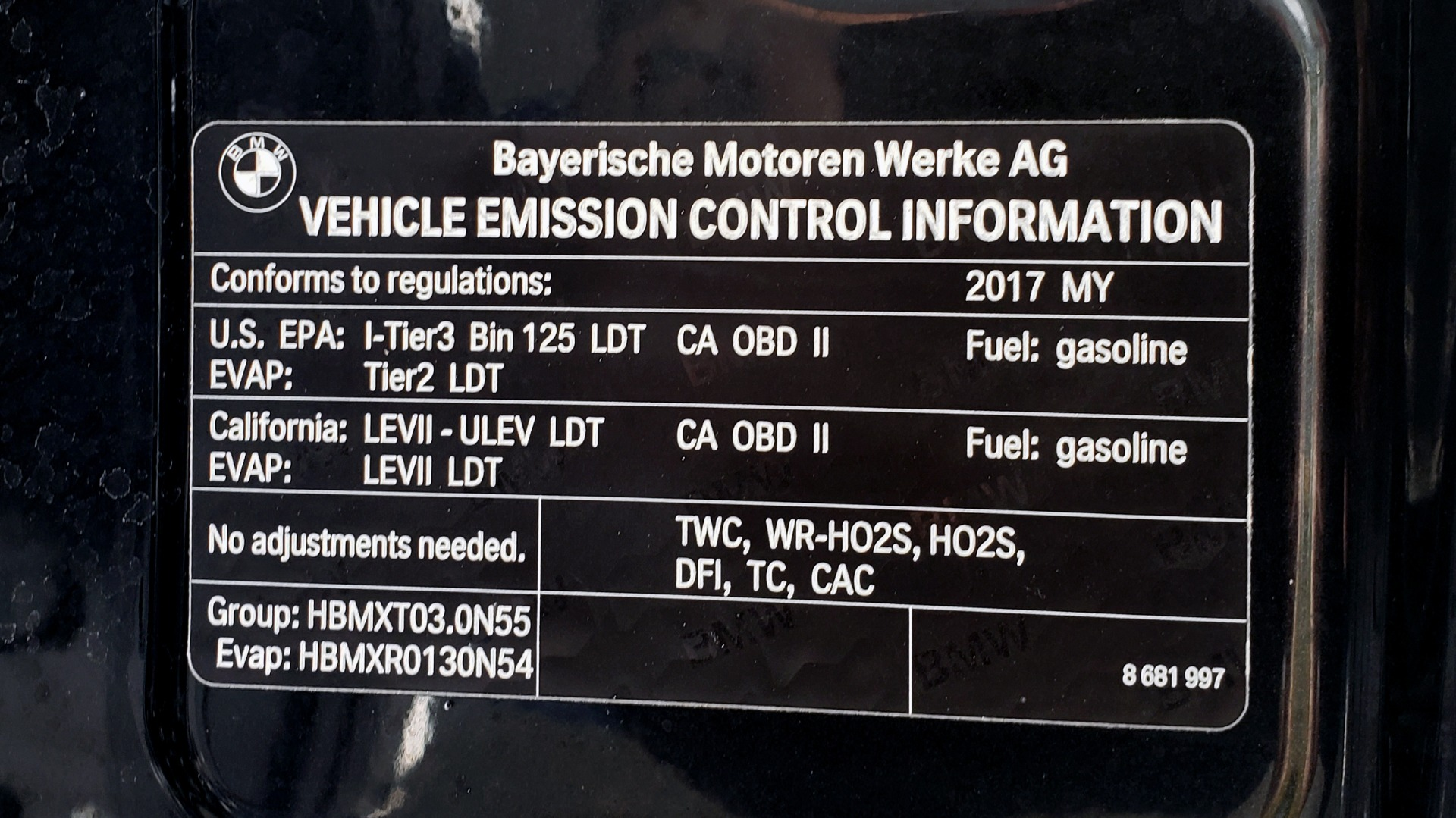 Used 2017 BMW X3 XDRIVE35I M-SPORT / DRVR ASST PLUS / TECHNOLOGY / HUD / BLIND SPOT for sale Sold at Formula Imports in Charlotte NC 28227 13
