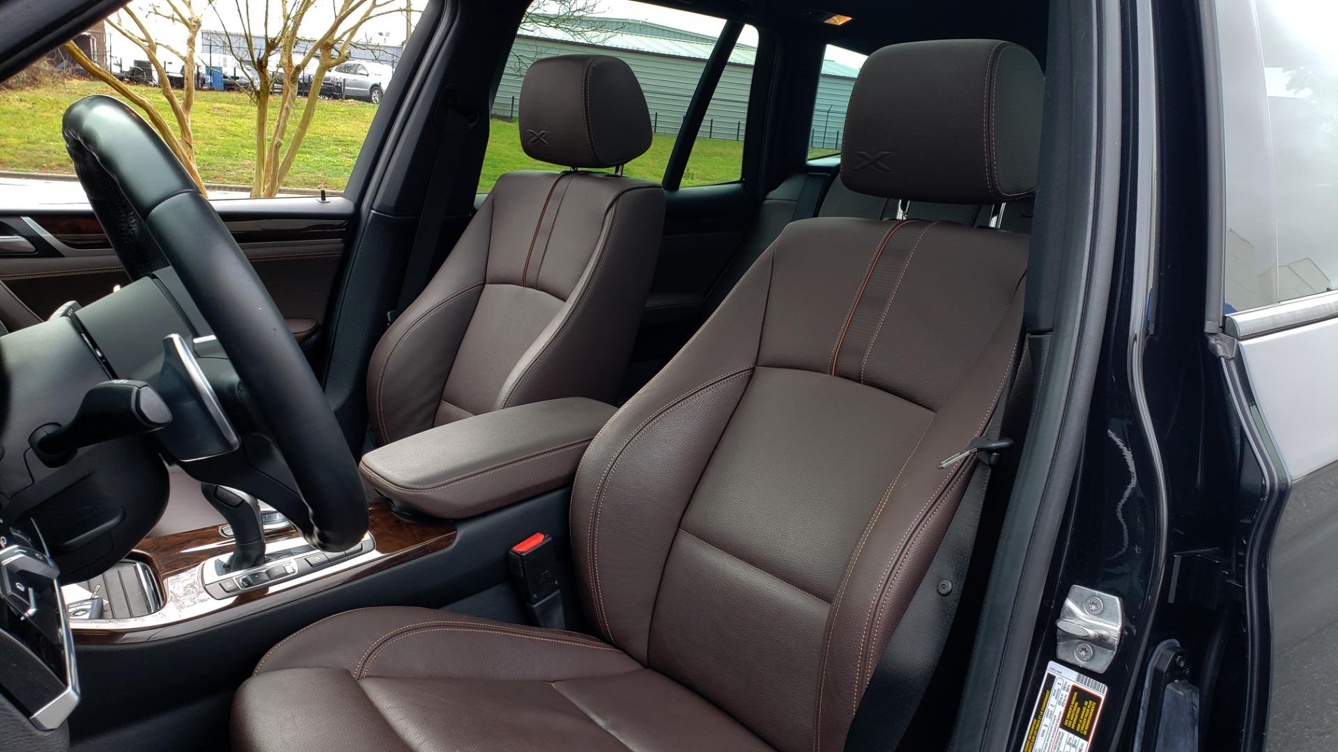 Used 2017 BMW X3 XDRIVE35I M-SPORT / DRVR ASST PLUS / TECHNOLOGY / HUD / BLIND SPOT for sale Sold at Formula Imports in Charlotte NC 28227 34