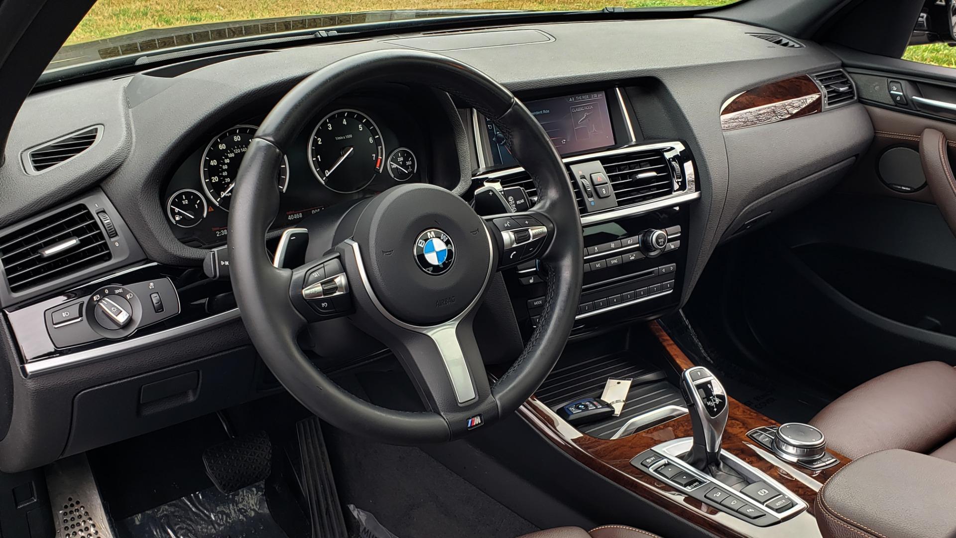 Used 2017 BMW X3 XDRIVE35I M-SPORT / DRVR ASST PLUS / TECHNOLOGY / HUD / BLIND SPOT for sale Sold at Formula Imports in Charlotte NC 28227 36