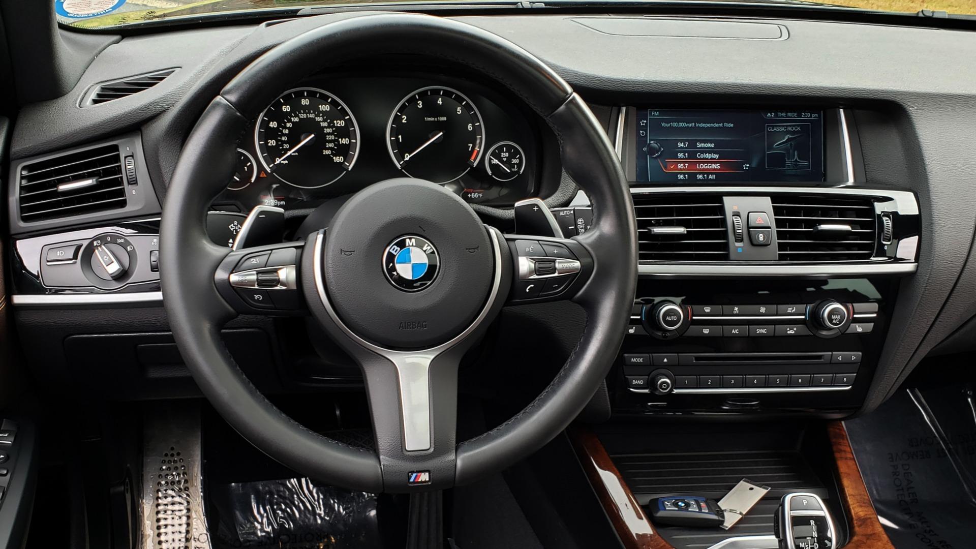 Used 2017 BMW X3 XDRIVE35I M-SPORT / DRVR ASST PLUS / TECHNOLOGY / HUD / BLIND SPOT for sale Sold at Formula Imports in Charlotte NC 28227 39