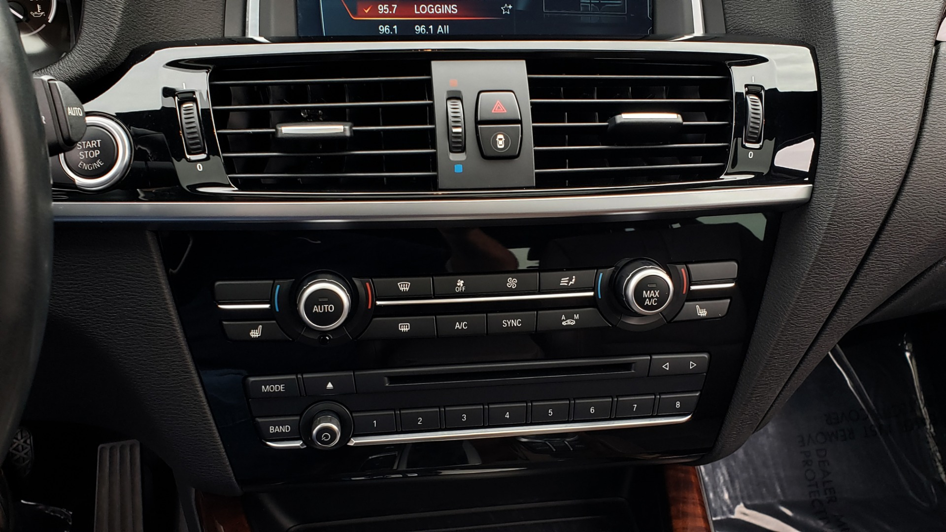 Used 2017 BMW X3 XDRIVE35I M-SPORT / DRVR ASST PLUS / TECHNOLOGY / HUD / BLIND SPOT for sale Sold at Formula Imports in Charlotte NC 28227 47