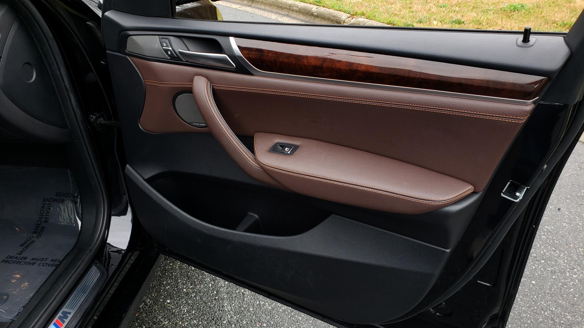 Used 2017 BMW X3 XDRIVE35I M-SPORT / DRVR ASST PLUS / TECHNOLOGY / HUD / BLIND SPOT for sale Sold at Formula Imports in Charlotte NC 28227 62