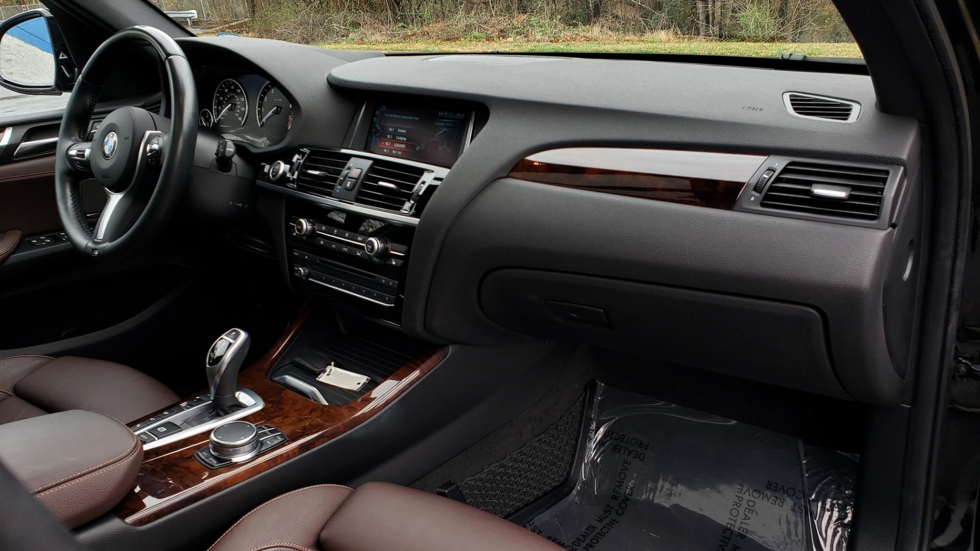 Used 2017 BMW X3 XDRIVE35I M-SPORT / DRVR ASST PLUS / TECHNOLOGY / HUD / BLIND SPOT for sale Sold at Formula Imports in Charlotte NC 28227 65