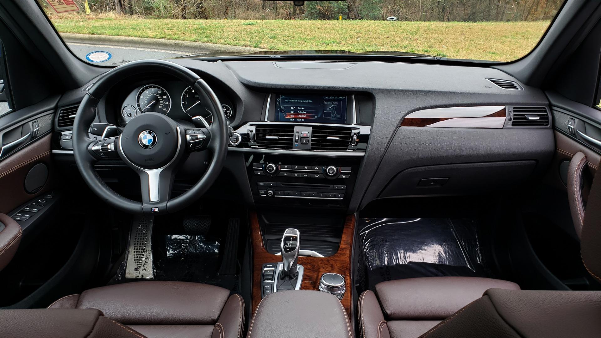 Used 2017 BMW X3 XDRIVE35I M-SPORT / DRVR ASST PLUS / TECHNOLOGY / HUD / BLIND SPOT for sale Sold at Formula Imports in Charlotte NC 28227 73