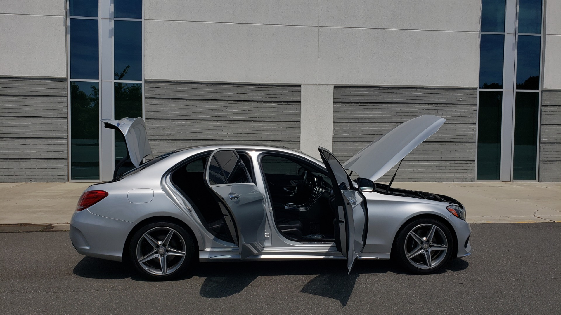 Used 2016 Mercedes-Benz C-CLASS C 300 SPORT 4MATIC / PREMIUM / MULTI-MEDIA / BSA / PANO-ROOF / REARVIEW for sale Call for price at Formula Imports in Charlotte NC 28227 12
