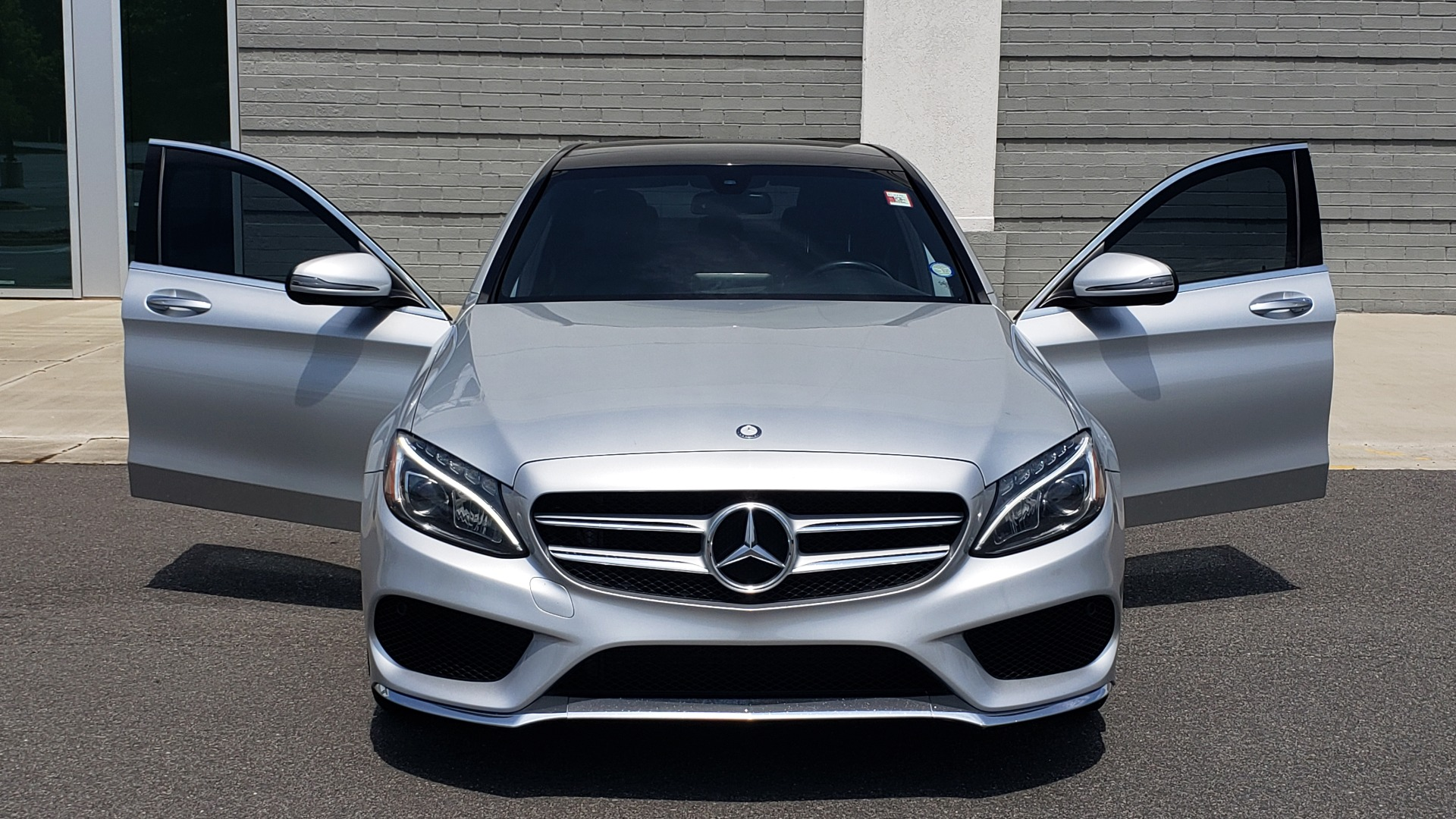 Used 2016 Mercedes-Benz C-CLASS C 300 SPORT 4MATIC / PREMIUM / MULTI-MEDIA / BSA / PANO-ROOF / REARVIEW for sale Call for price at Formula Imports in Charlotte NC 28227 19