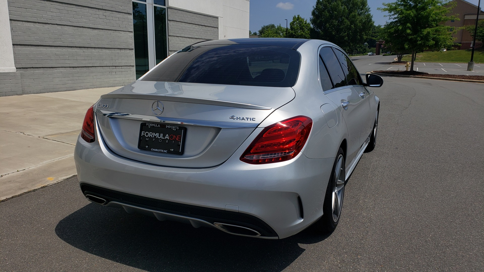 Used 2016 Mercedes-Benz C-CLASS C 300 SPORT 4MATIC / PREMIUM / MULTI-MEDIA / BSA / PANO-ROOF / REARVIEW for sale Call for price at Formula Imports in Charlotte NC 28227 2