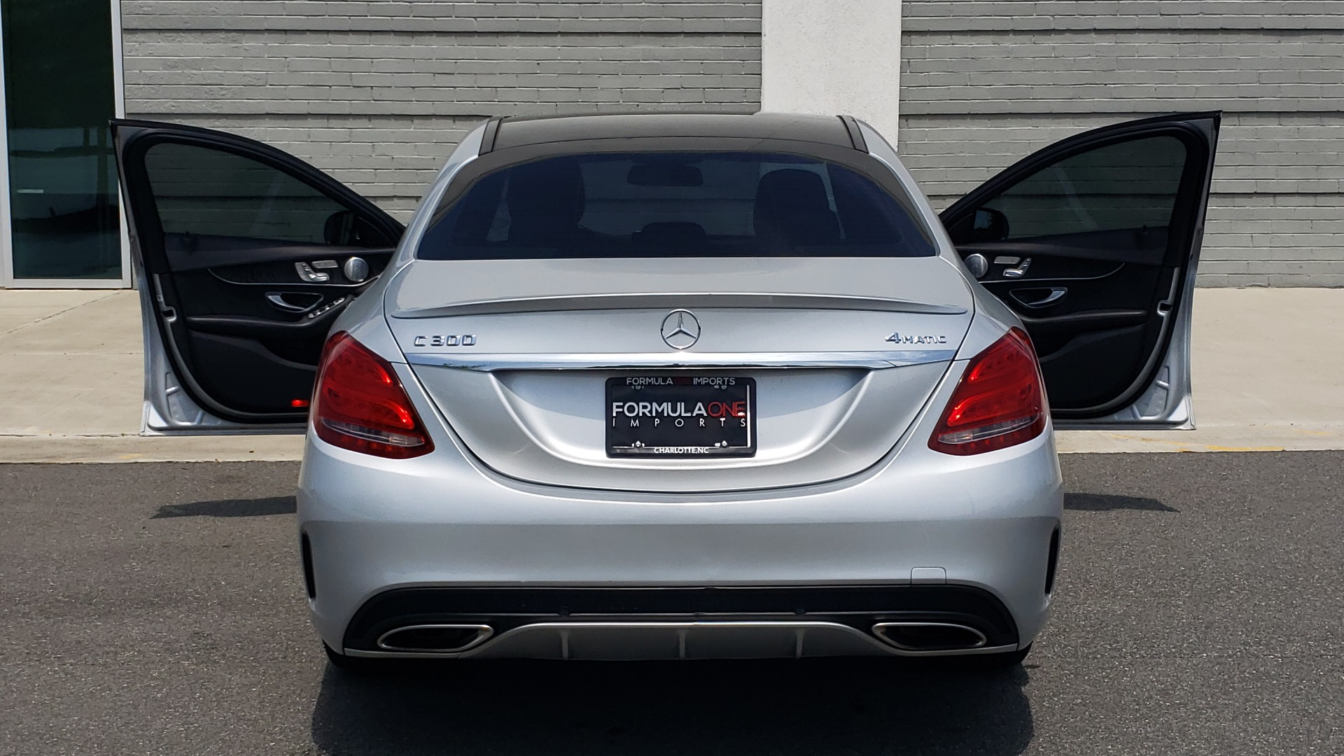 Used 2016 Mercedes-Benz C-CLASS C 300 SPORT 4MATIC / PREMIUM / MULTI-MEDIA / BSA / PANO-ROOF / REARVIEW for sale Call for price at Formula Imports in Charlotte NC 28227 26