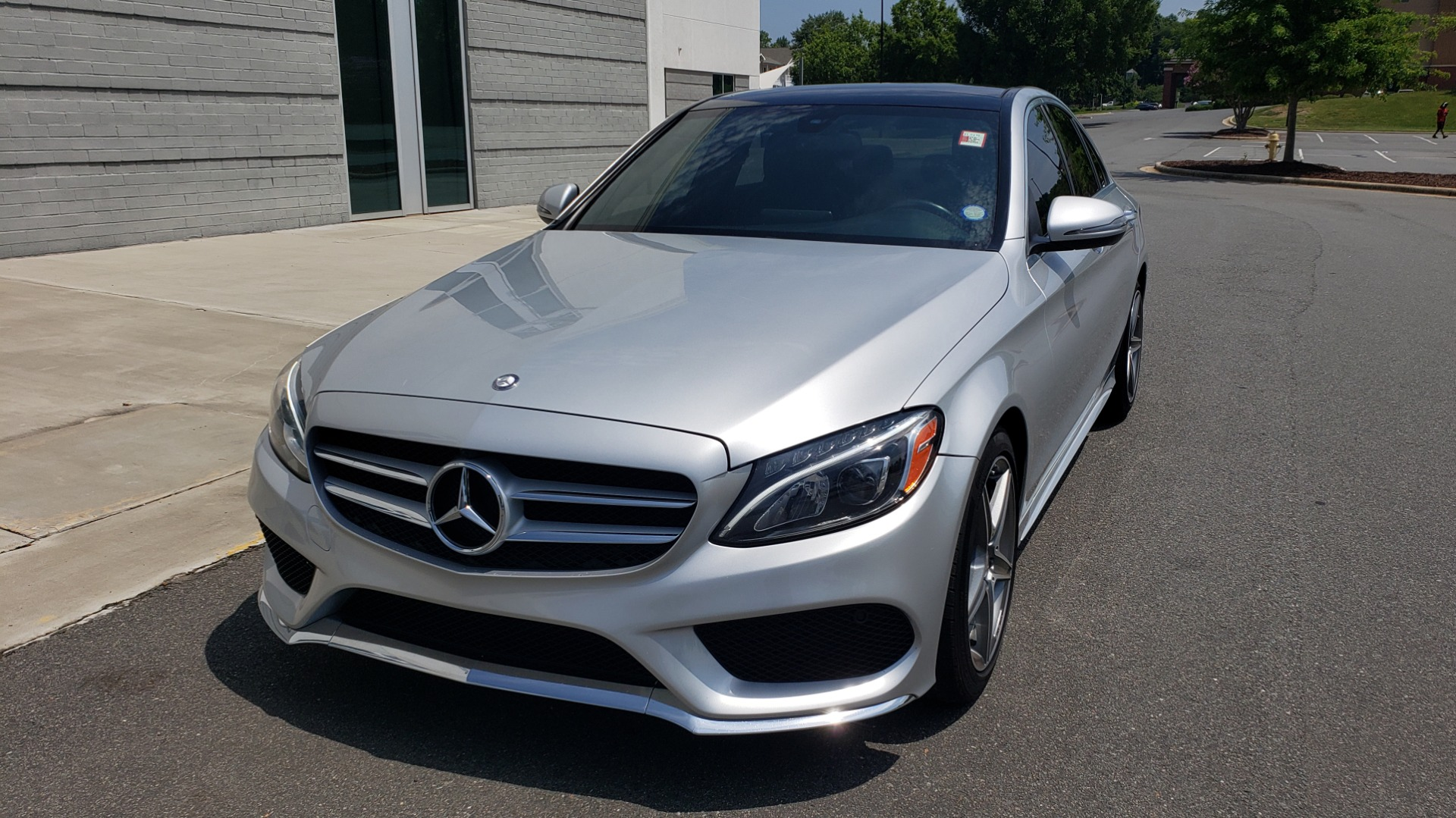 Used 2016 Mercedes-Benz C-CLASS C 300 SPORT 4MATIC / PREMIUM / MULTI-MEDIA / BSA / PANO-ROOF / REARVIEW for sale Call for price at Formula Imports in Charlotte NC 28227 3