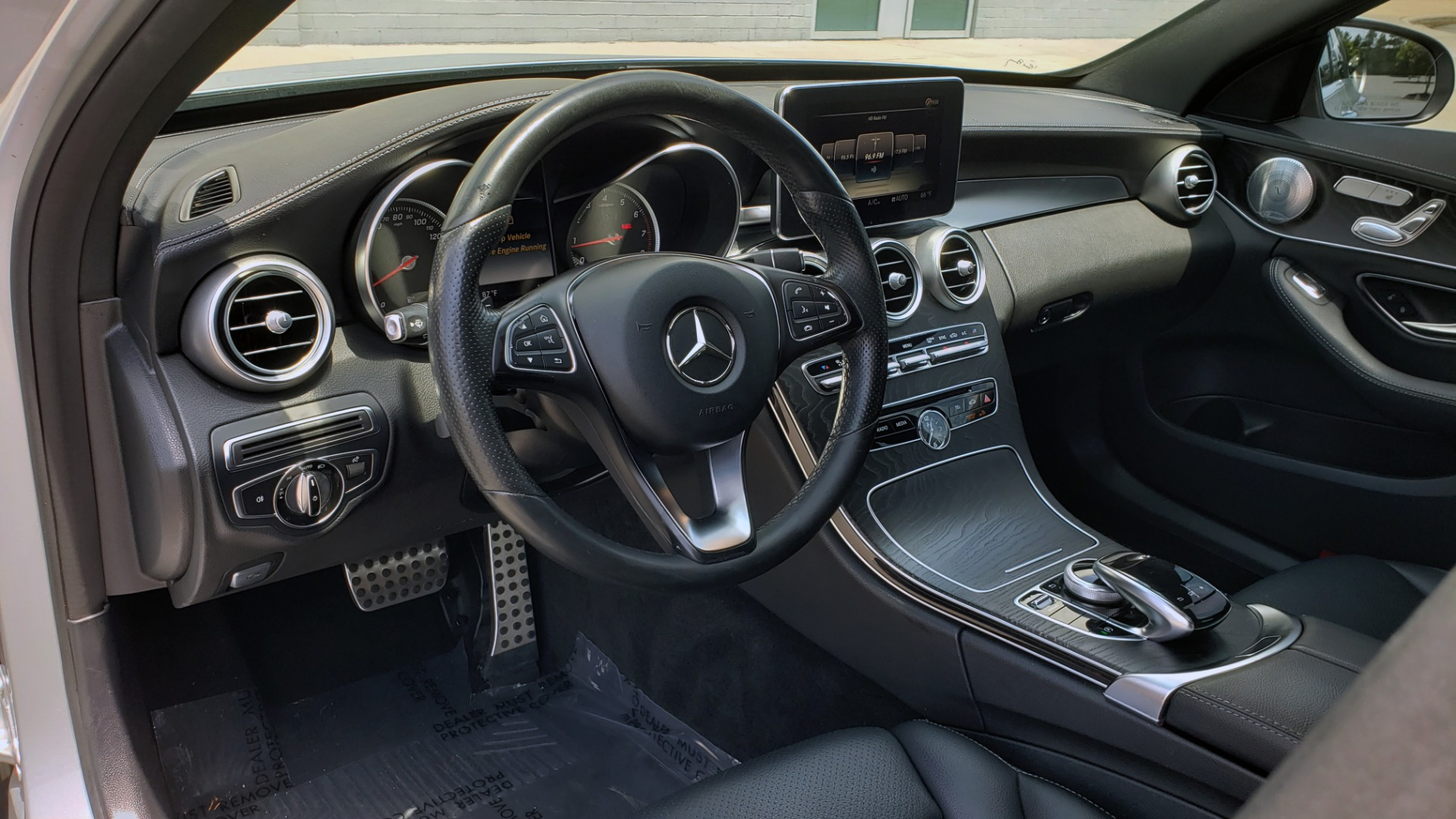 Used 2016 Mercedes-Benz C-CLASS C 300 SPORT 4MATIC / PREMIUM / MULTI-MEDIA / BSA / PANO-ROOF / REARVIEW for sale Call for price at Formula Imports in Charlotte NC 28227 35