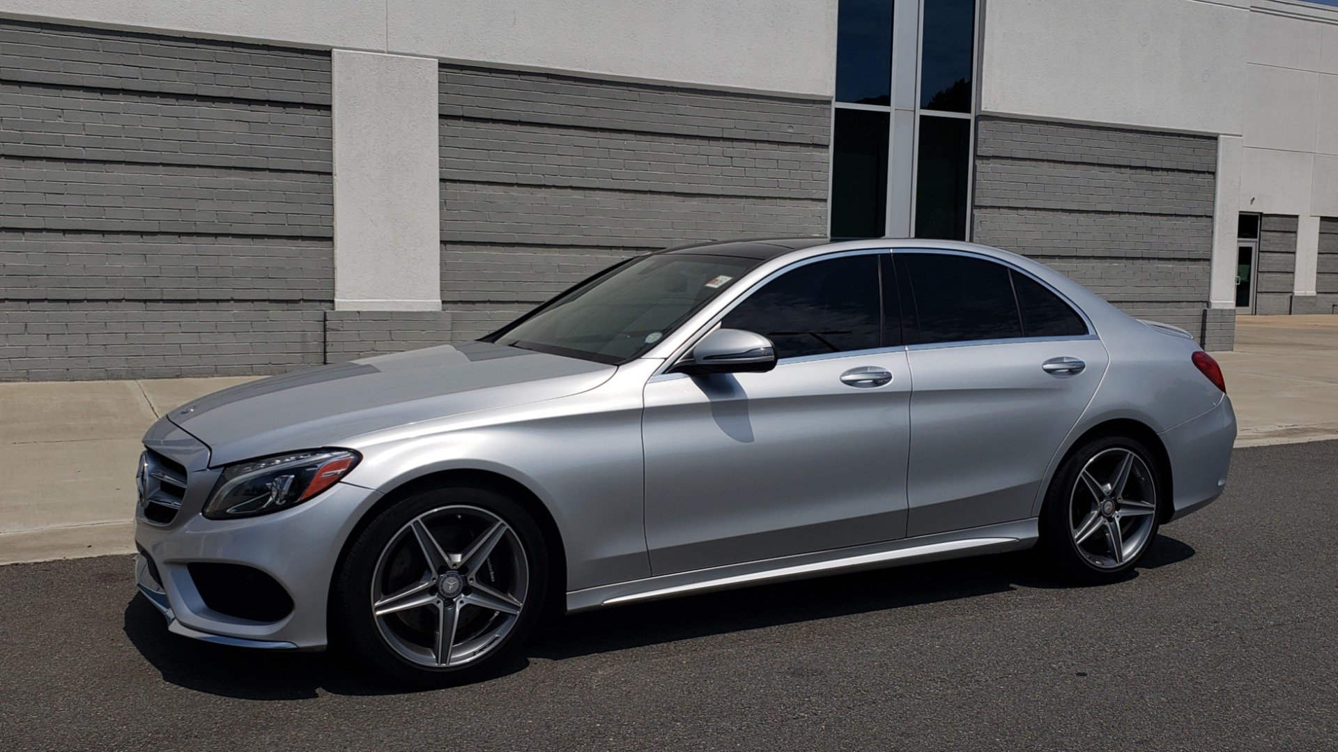 Used 2016 Mercedes-Benz C-CLASS C 300 SPORT 4MATIC / PREMIUM / MULTI-MEDIA / BSA / PANO-ROOF / REARVIEW for sale Call for price at Formula Imports in Charlotte NC 28227 4