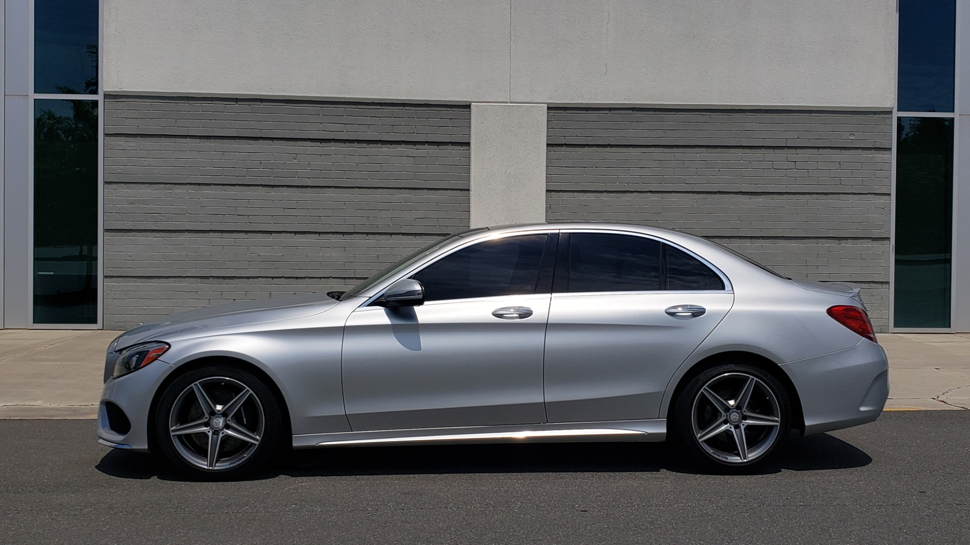 Used 2016 Mercedes-Benz C-CLASS C 300 SPORT 4MATIC / PREMIUM / MULTI-MEDIA / BSA / PANO-ROOF / REARVIEW for sale Call for price at Formula Imports in Charlotte NC 28227 5
