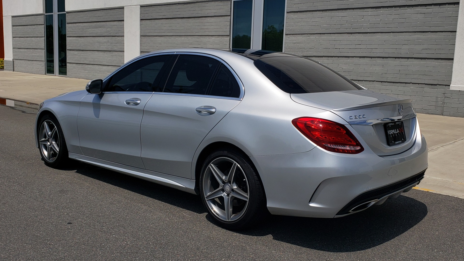 Used 2016 Mercedes-Benz C-CLASS C 300 SPORT 4MATIC / PREMIUM / MULTI-MEDIA / BSA / PANO-ROOF / REARVIEW for sale Call for price at Formula Imports in Charlotte NC 28227 6