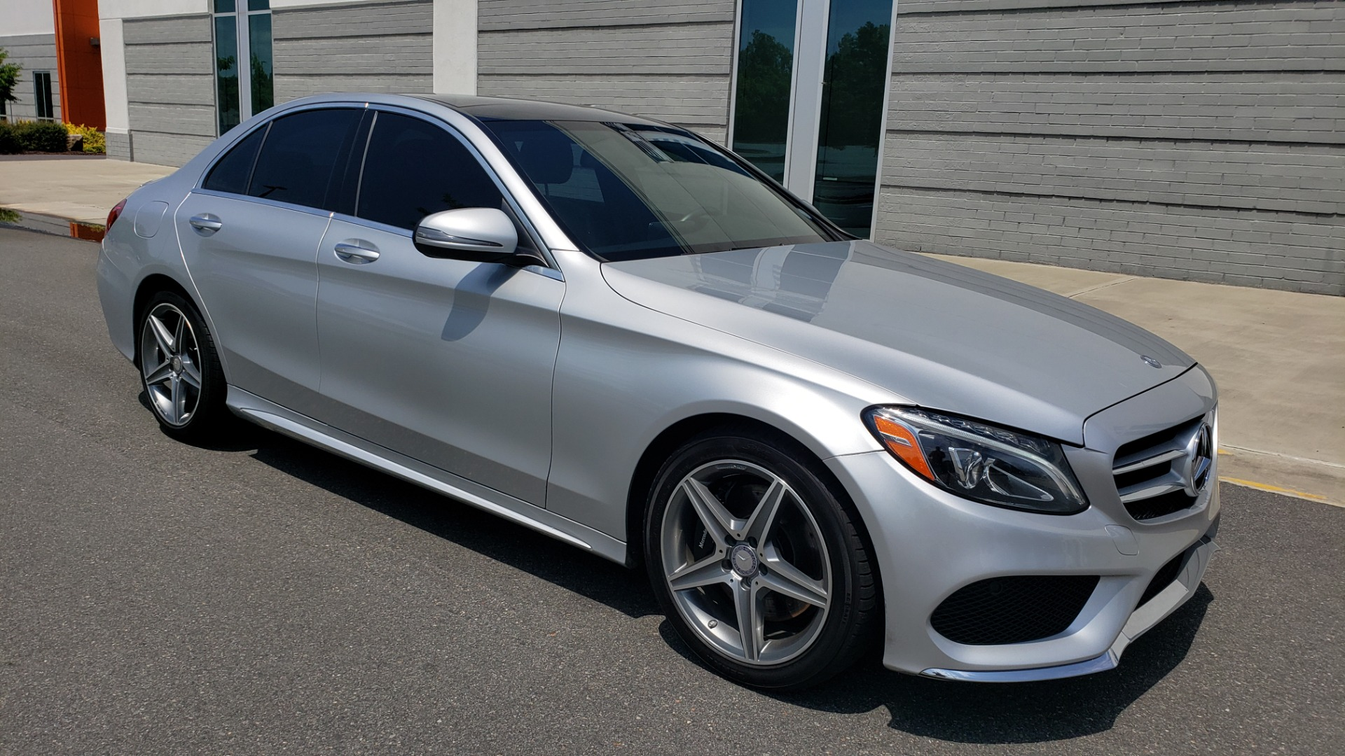 Used 2016 Mercedes-Benz C-CLASS C 300 SPORT 4MATIC / PREMIUM / MULTI-MEDIA / BSA / PANO-ROOF / REARVIEW for sale Call for price at Formula Imports in Charlotte NC 28227 7