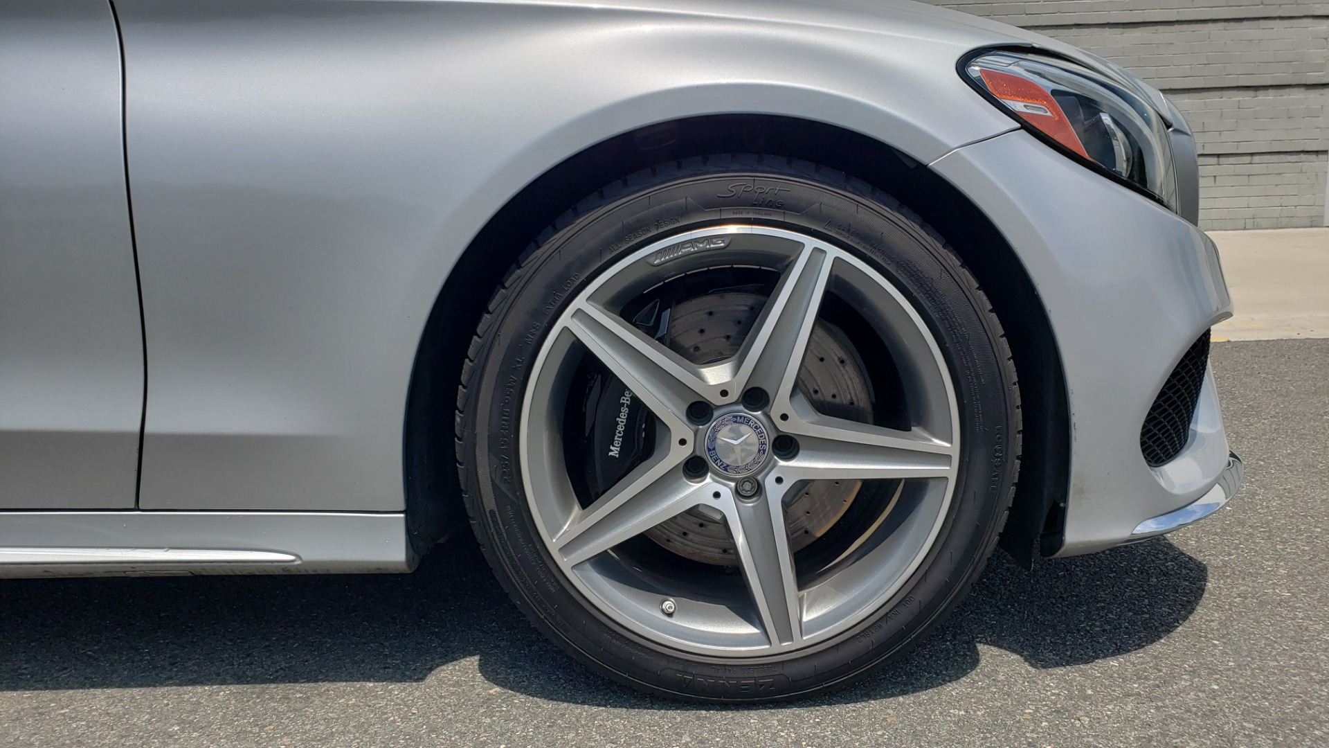 Used 2016 Mercedes-Benz C-CLASS C 300 SPORT 4MATIC / PREMIUM / MULTI-MEDIA / BSA / PANO-ROOF / REARVIEW for sale Call for price at Formula Imports in Charlotte NC 28227 76