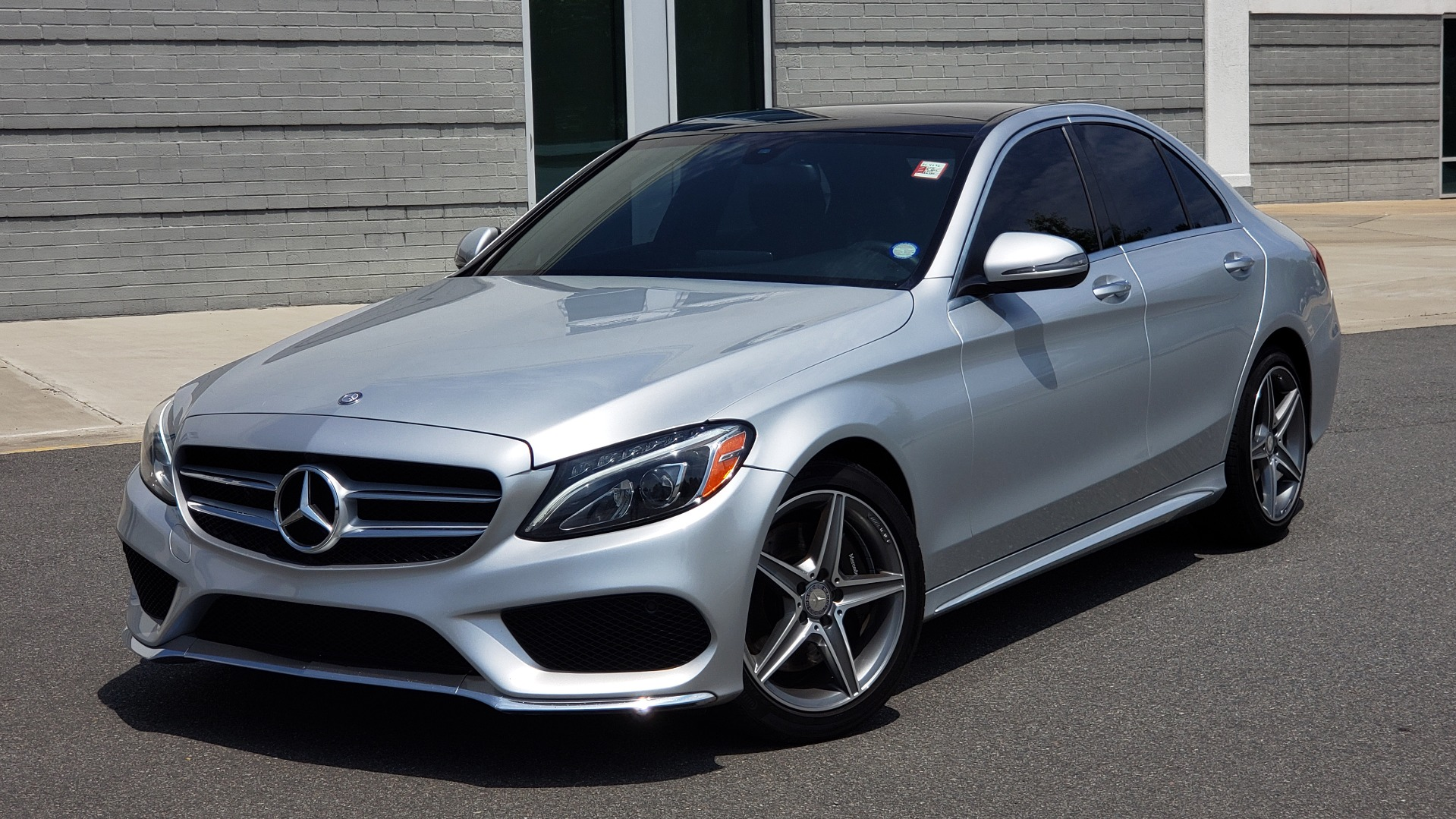 Used 2016 Mercedes-Benz C-CLASS C 300 SPORT 4MATIC / PREMIUM / MULTI-MEDIA / BSA / PANO-ROOF / REARVIEW for sale Call for price at Formula Imports in Charlotte NC 28227 1