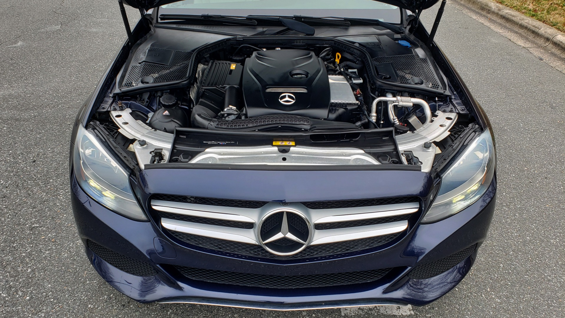 Used 2016 Mercedes-Benz C-CLASS C 300 / PREM PKG / PANO-ROOF / BSA / HTD STS / REARVIEW for sale Sold at Formula Imports in Charlotte NC 28227 10