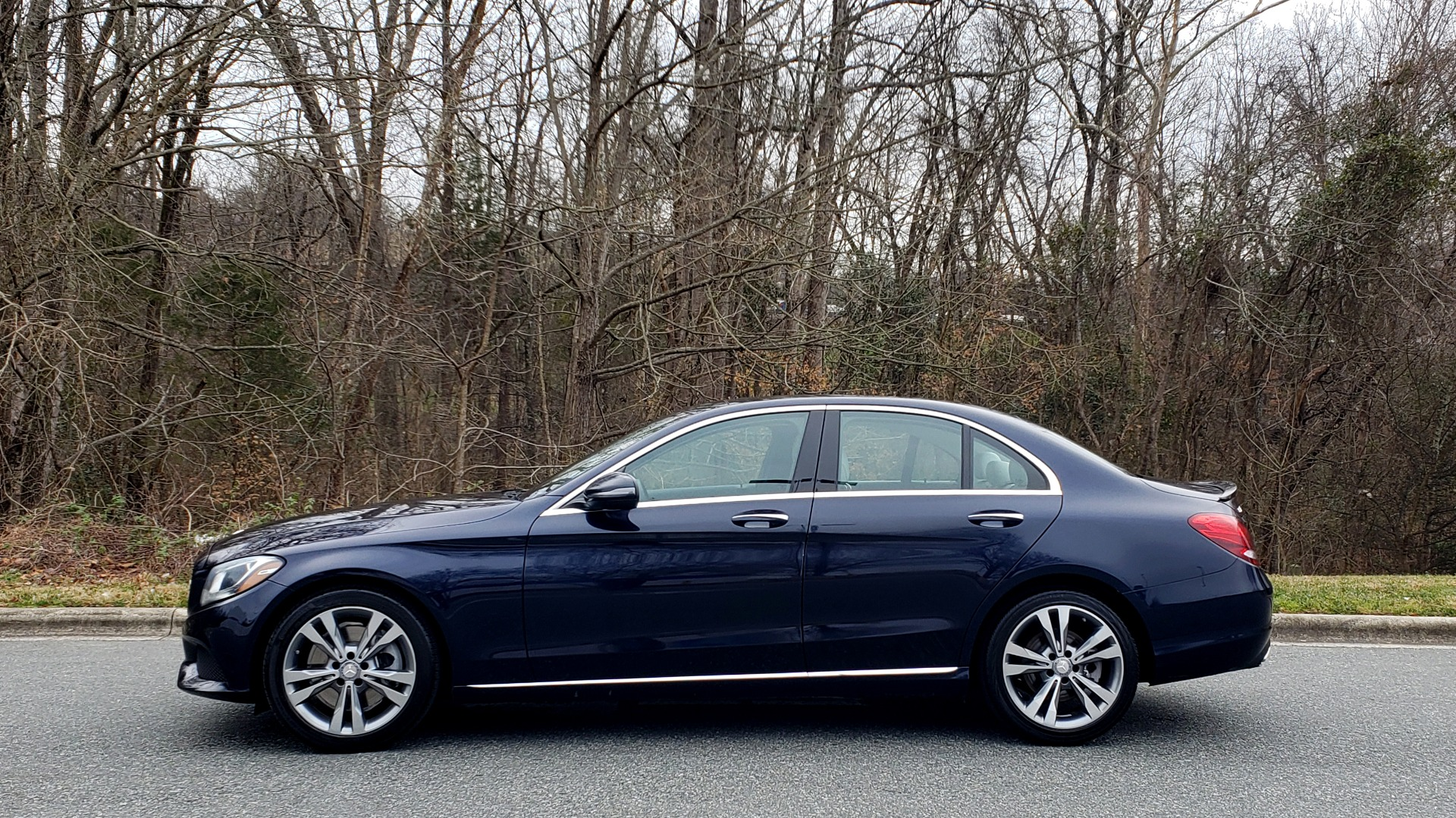 Used 2016 Mercedes-Benz C-CLASS C 300 / PREM PKG / PANO-ROOF / BSA / HTD STS / REARVIEW for sale Sold at Formula Imports in Charlotte NC 28227 2